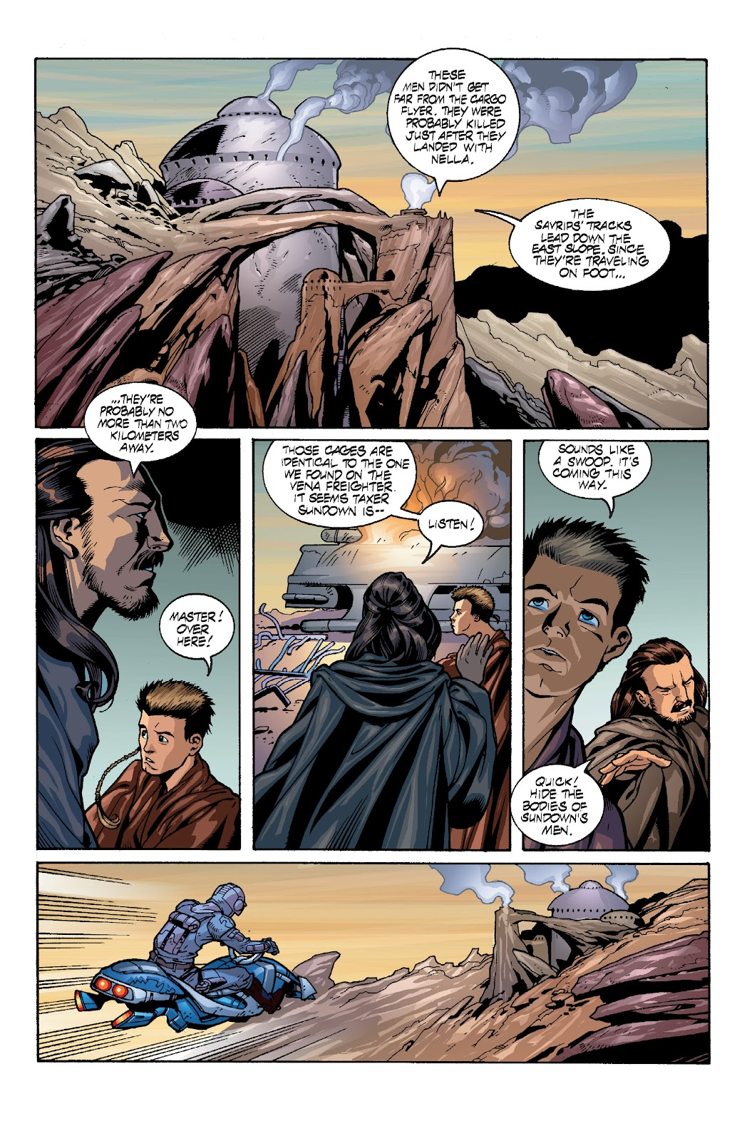 Read online Star Wars Legends: Rise of the Sith - Epic Collection comic -  Issue # TPB 1 (Part 4) - 22