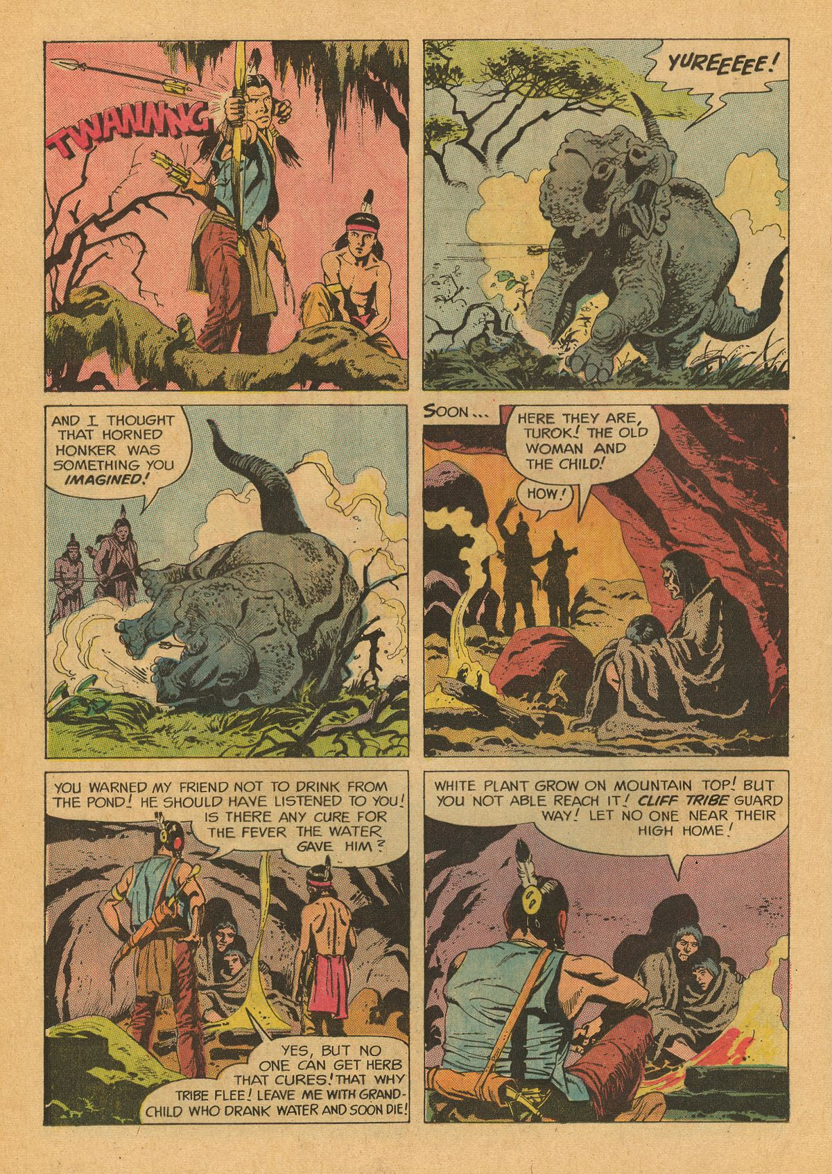 Read online Turok, Son of Stone comic -  Issue #75 - 23