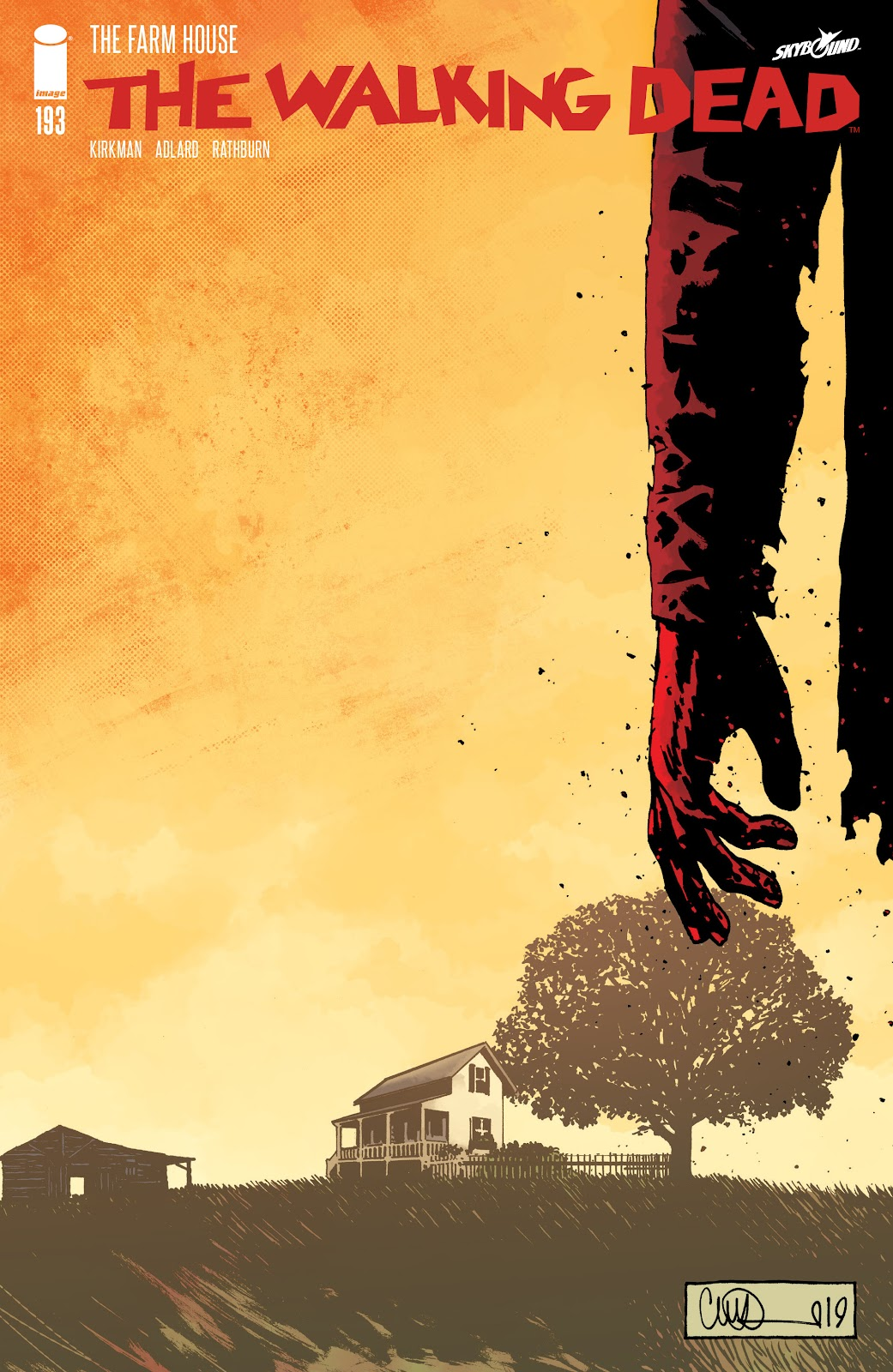 The Walking Dead 193 Page 1