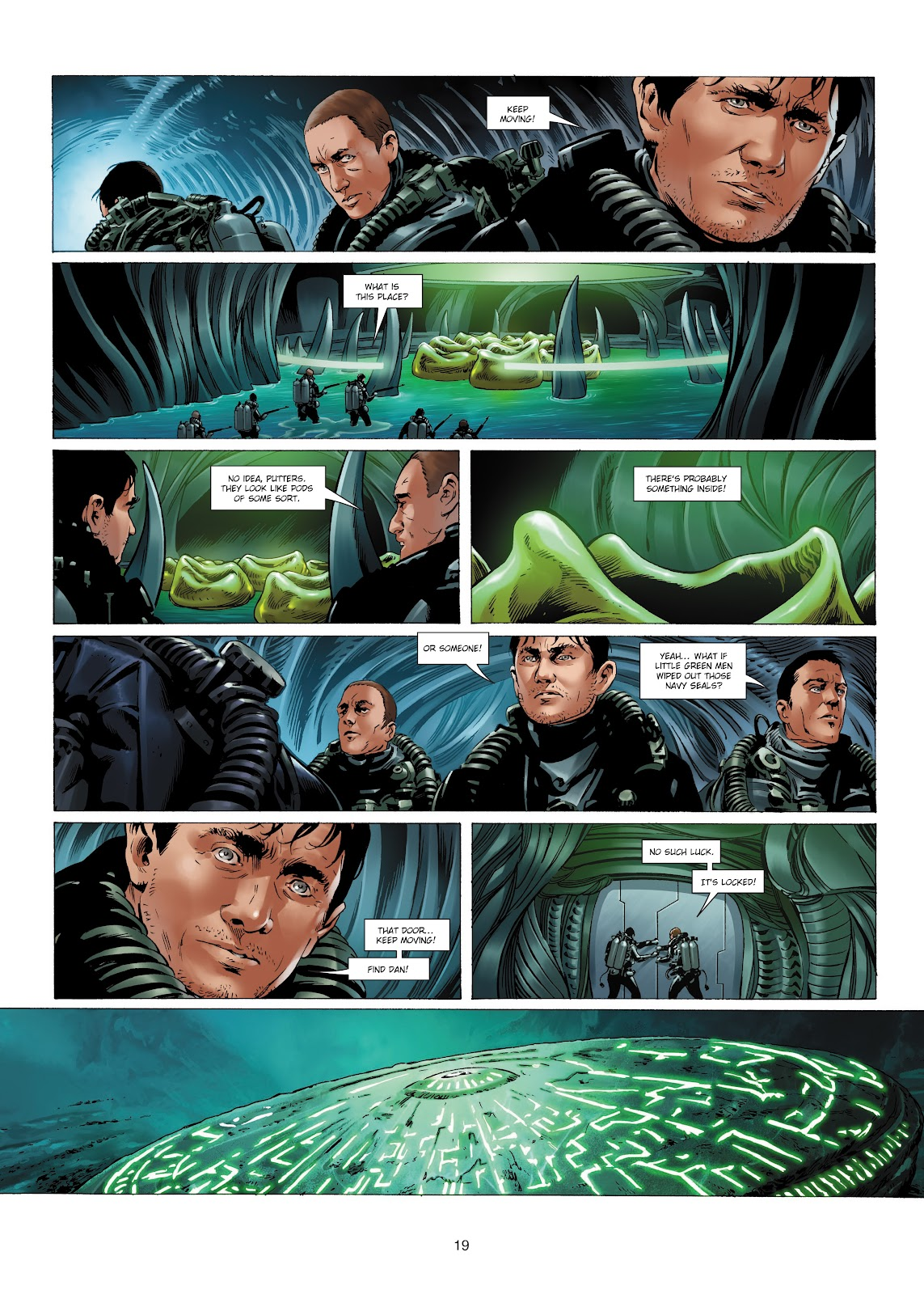 Read online Olympus Mons Vol. 1: Anomaly One comic -  Issue #4 - 19