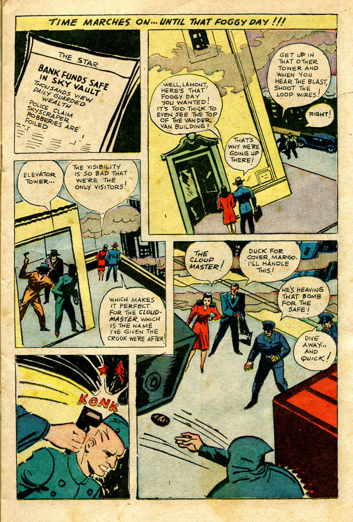 Read online Shadow Comics comic -  Issue #65 - 17