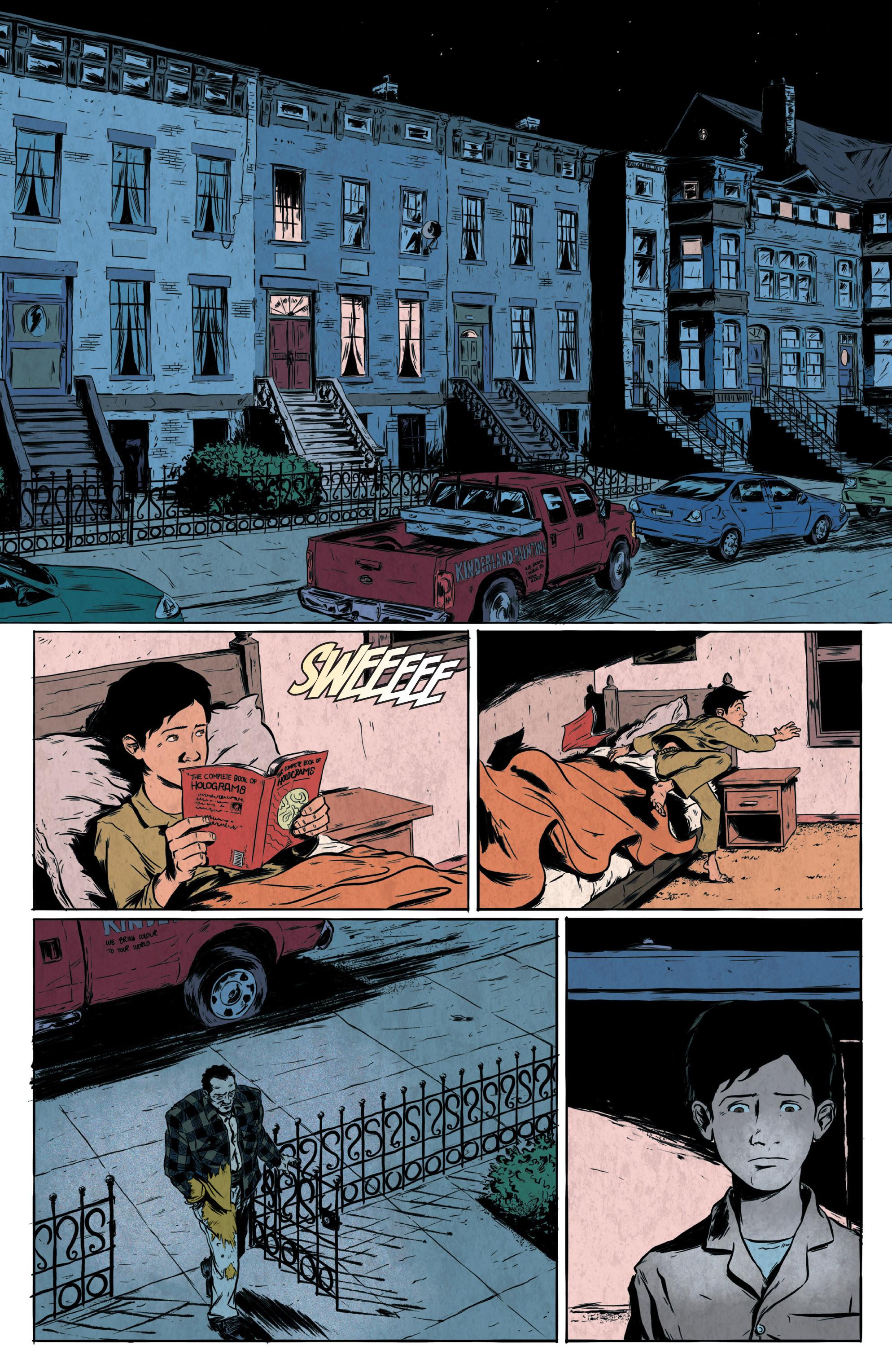 Read online Translucid comic -  Issue #1 - 16