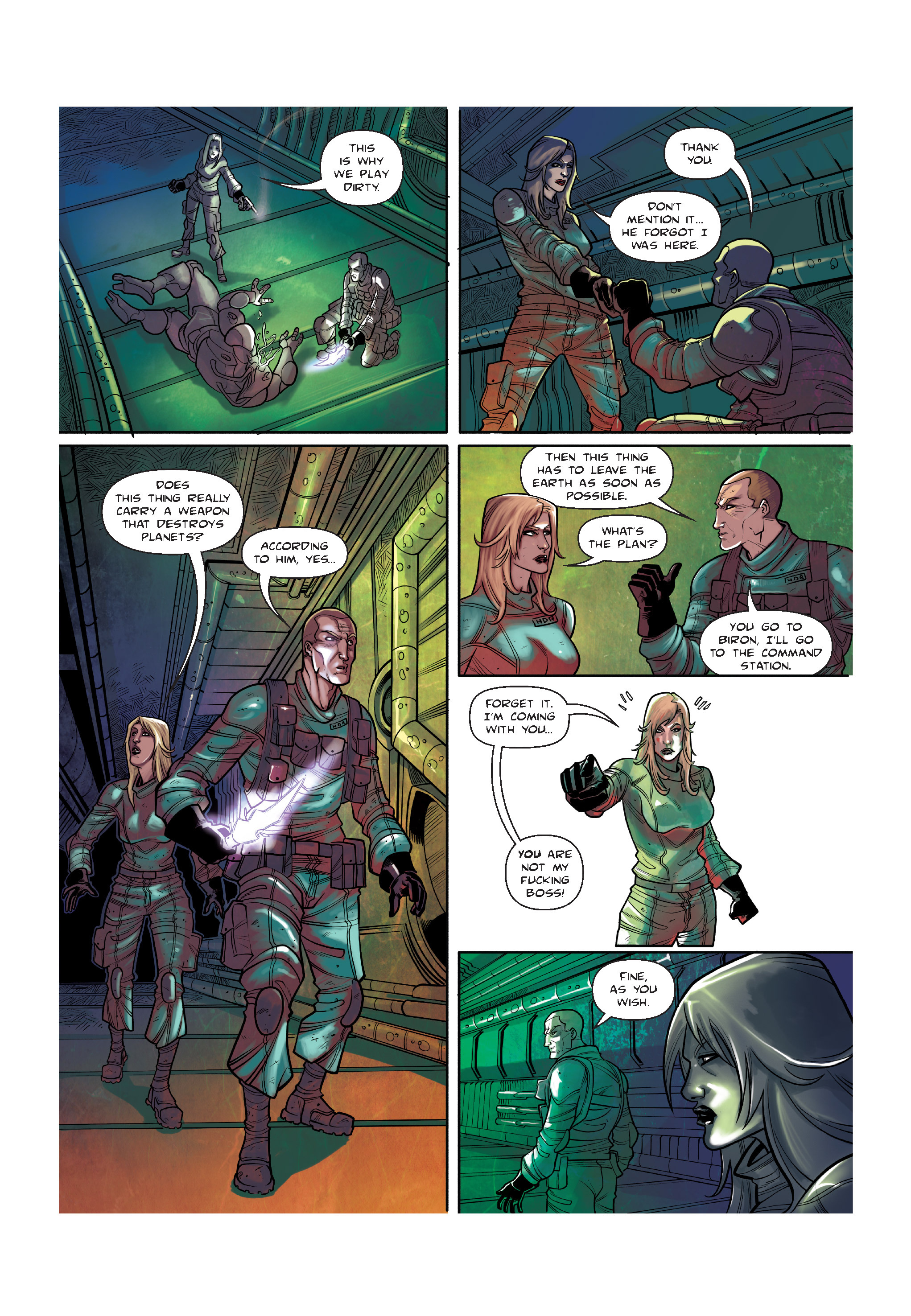 Read online The Shadow of a Terrible Thing comic -  Issue # TPB - 126