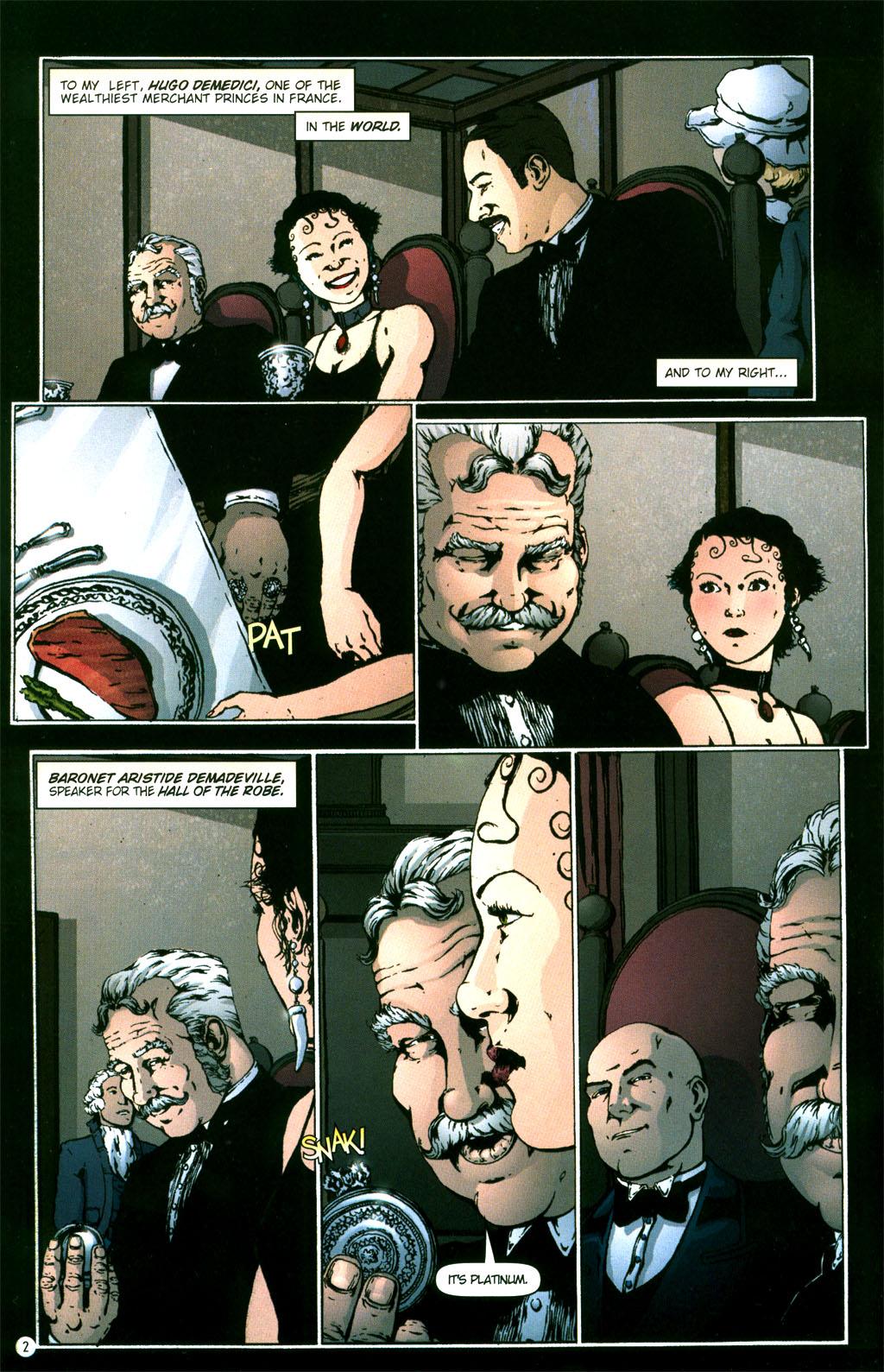 Read online Rex Mundi comic -  Issue #5 - 4