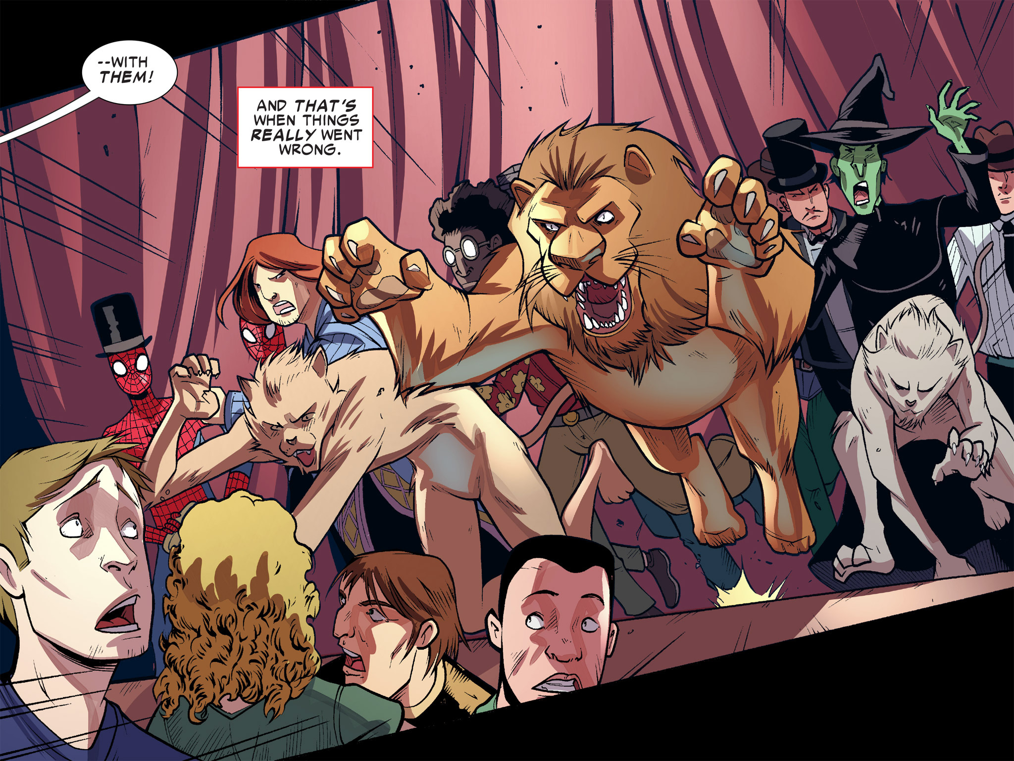 Read online Ultimate Spider-Man (Infinite Comics) (2016) comic -  Issue #10 - 13