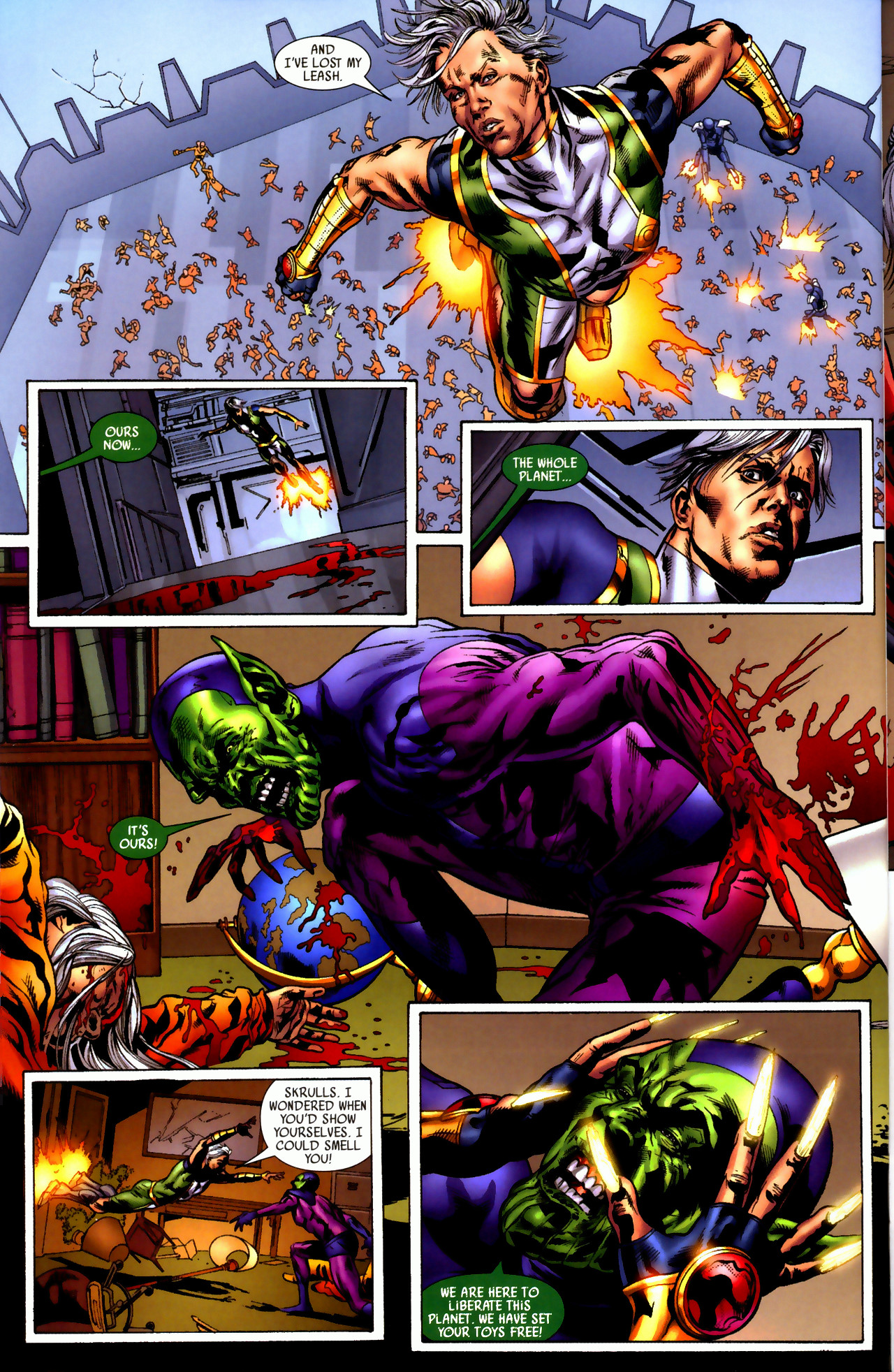 Read online Secret Invasion: Who Do You Trust? comic -  Issue # Full - 35