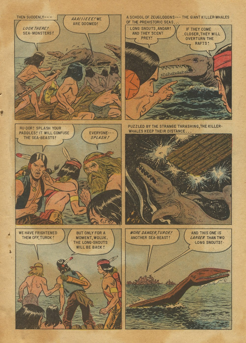 Read online Turok, Son of Stone comic -  Issue #12 - 31