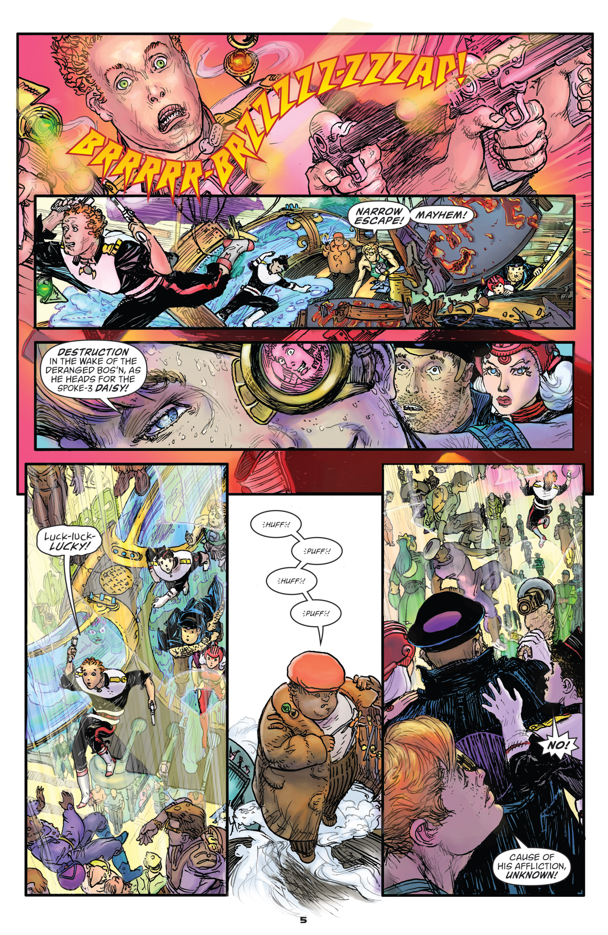 Read online Starstruck: Old Proldiers Never Die comic -  Issue #5 - 7