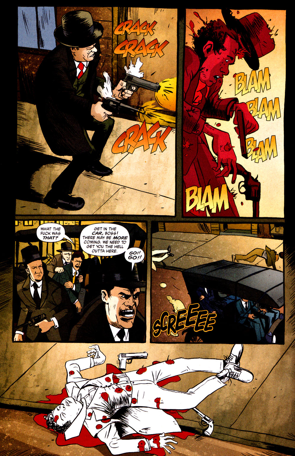 Read online Caper comic -  Issue #1 - 22
