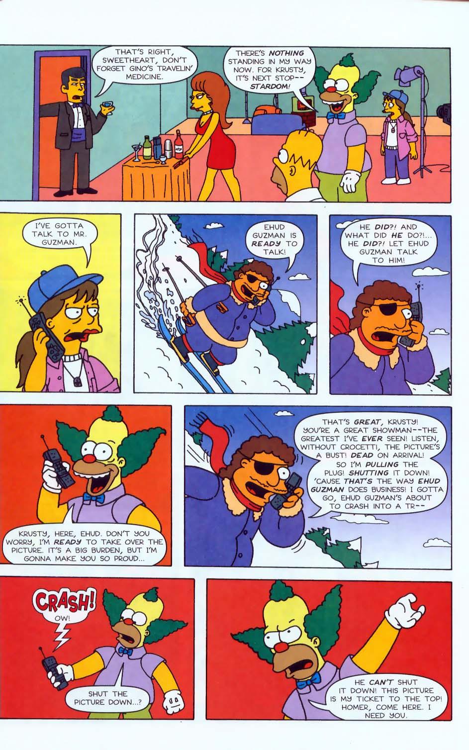 Read online Simpsons Comics comic -  Issue #50 - 52