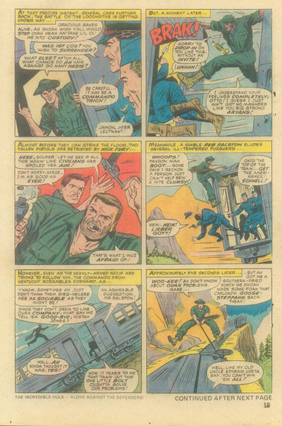 Read online Sgt. Fury comic -  Issue #138 - 20