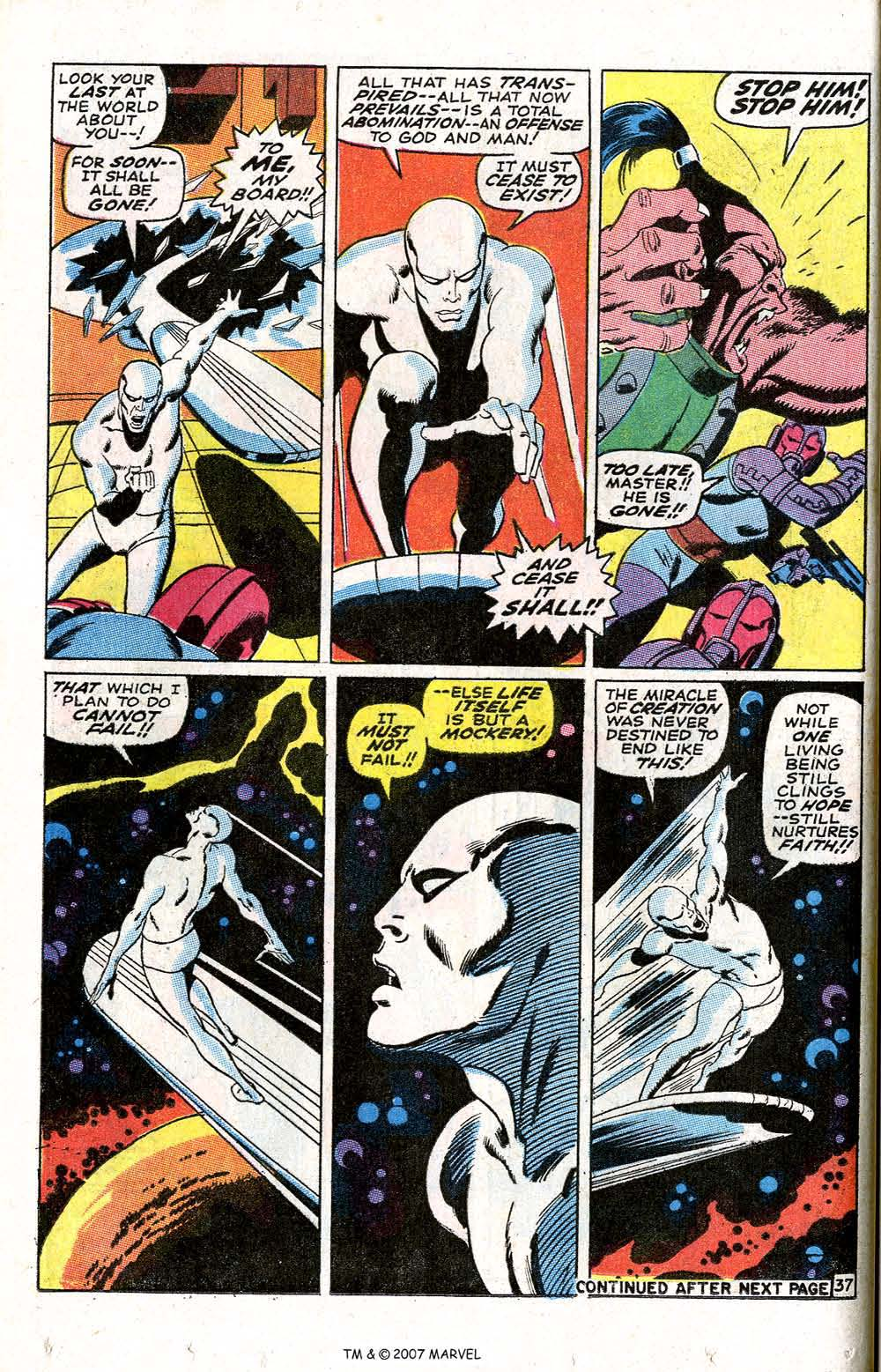 Read online Silver Surfer (1968) comic -  Issue #6 - 44