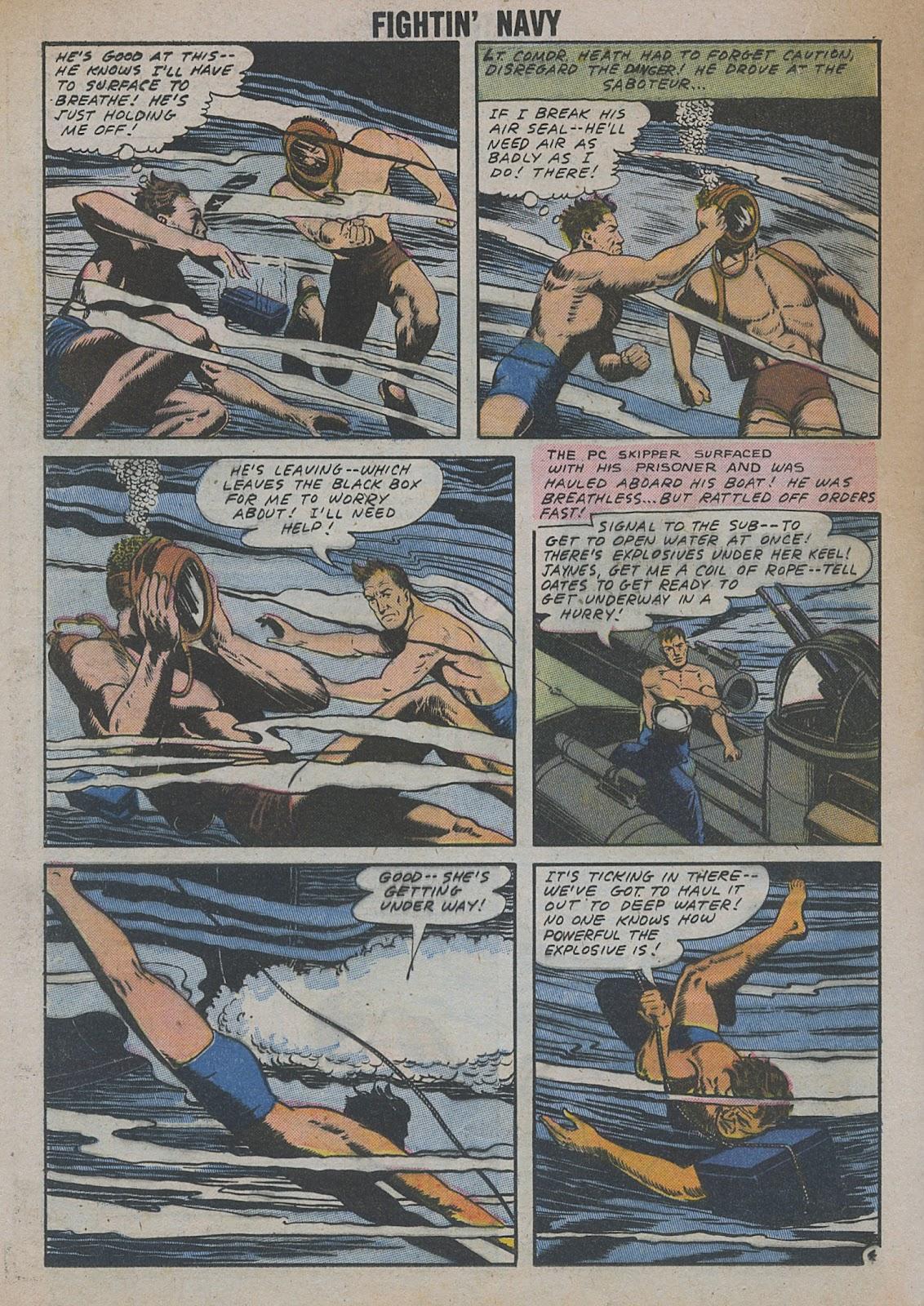 Read online Fightin' Navy comic -  Issue #82 - 46