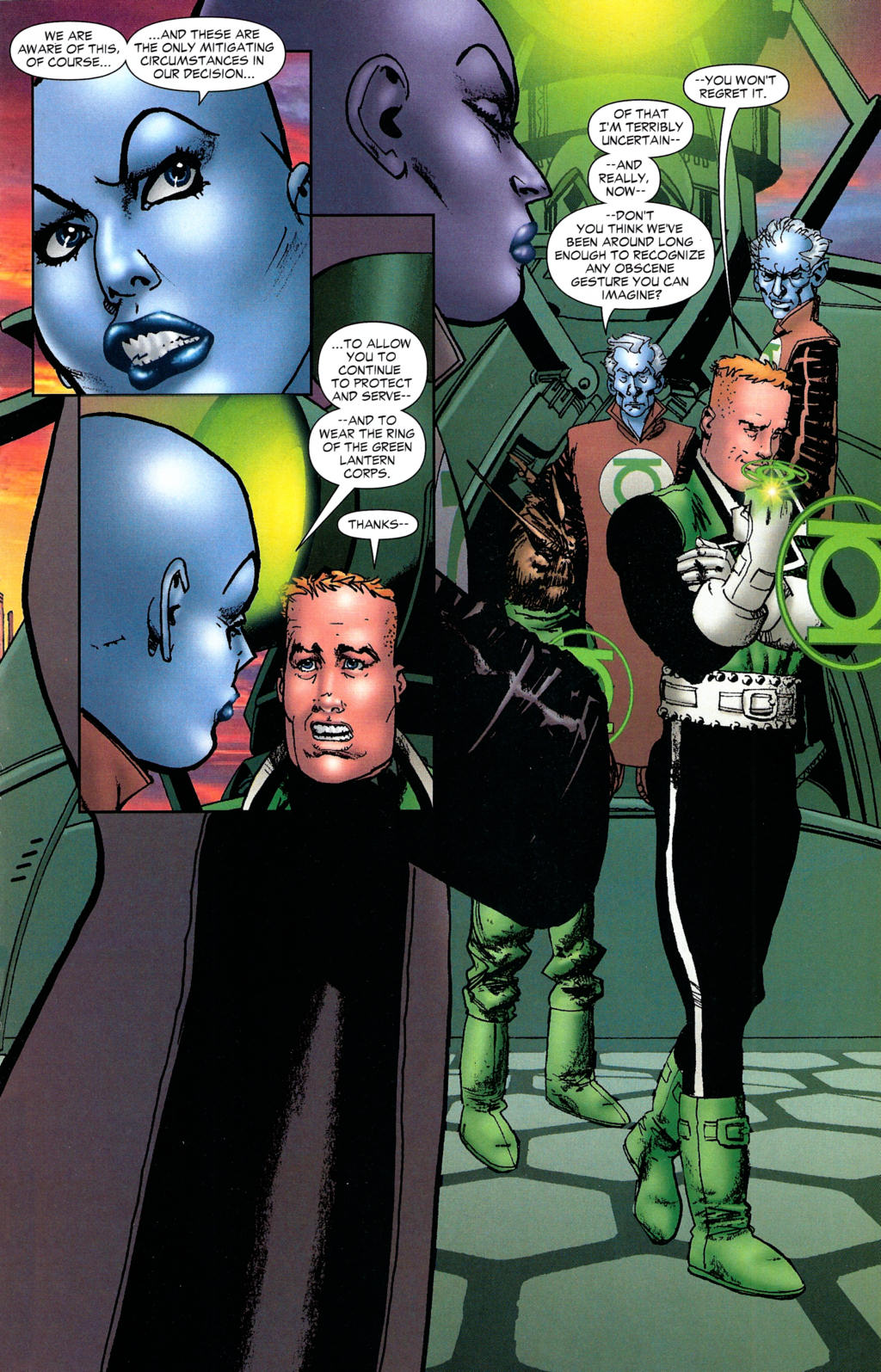 Read online Guy Gardner: Collateral Damage comic -  Issue #2 - 39