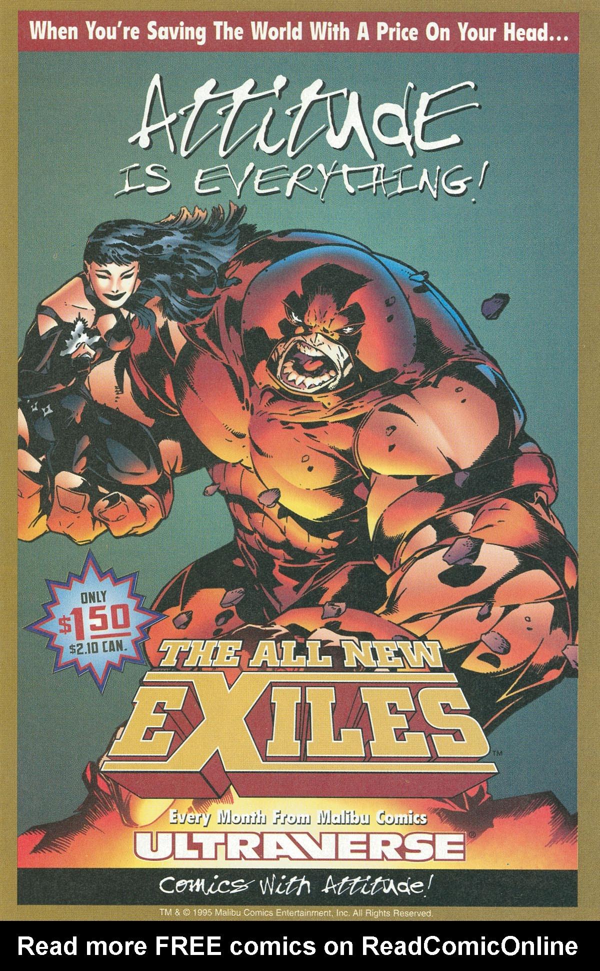 Read online UltraForce (1995) comic -  Issue #6 - 6