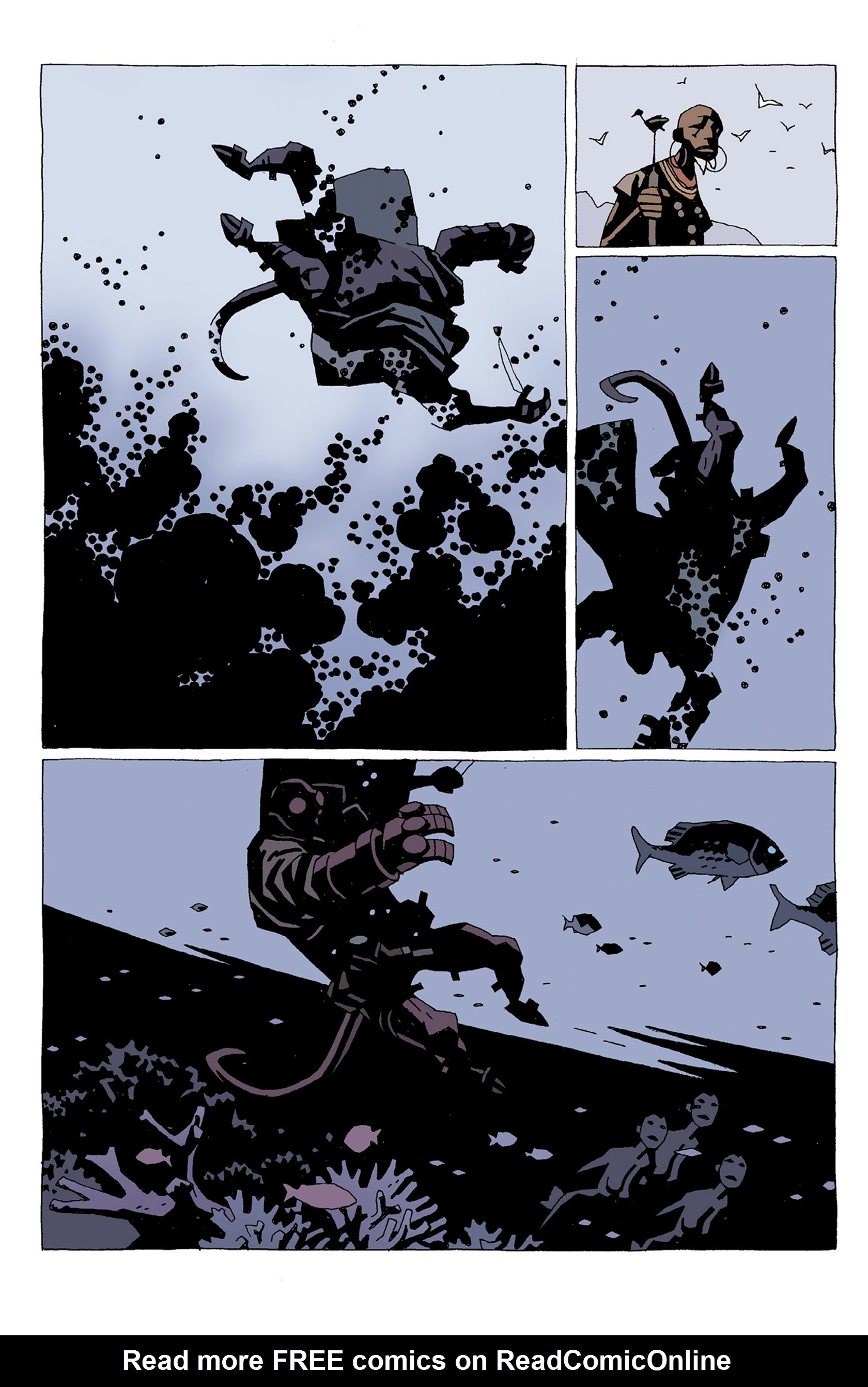 Read online Hellboy: Strange Places comic -  Issue # TPB - 20