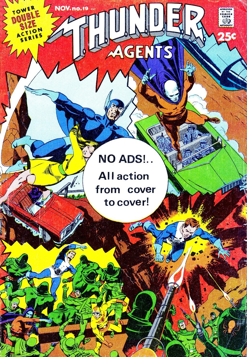 T.H.U.N.D.E.R. Agents (1965) 19 Page 1