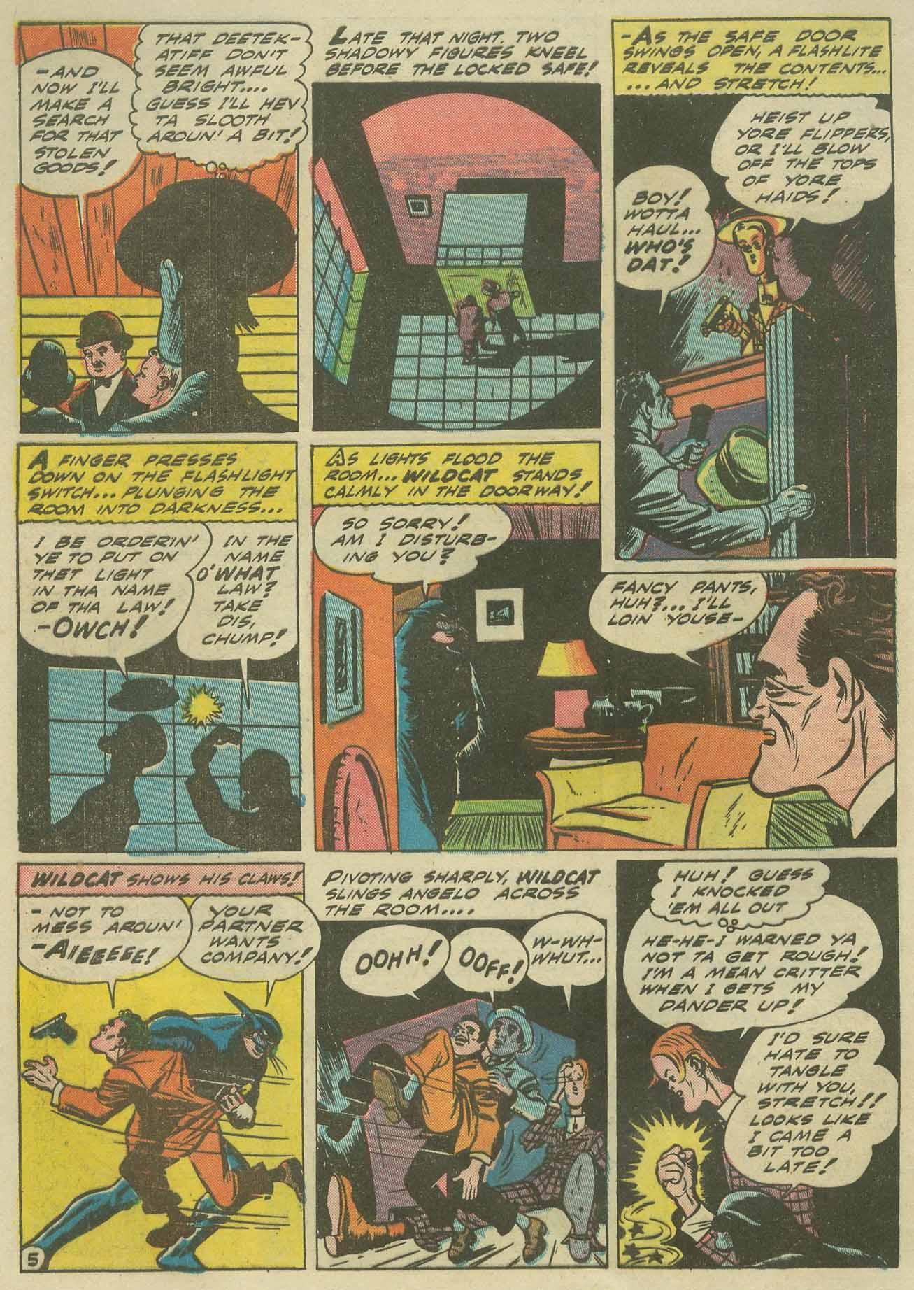 Read online Sensation (Mystery) Comics comic -  Issue #9 - 60
