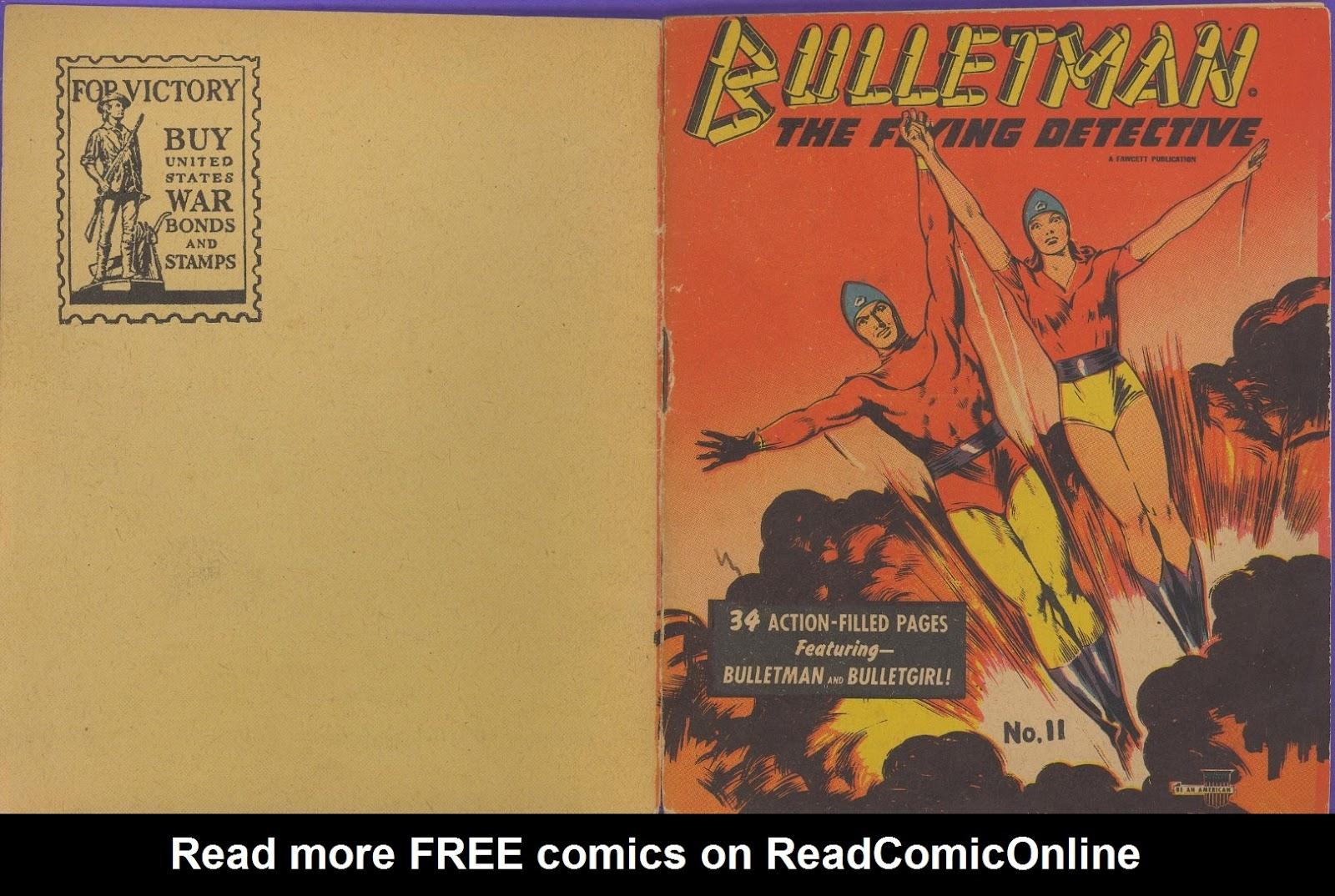 Bulletman 11 Page 1