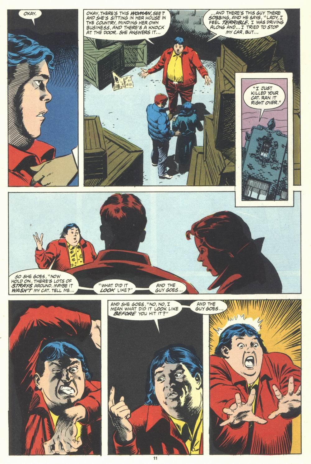 Read online Justice (1986) comic -  Issue #31 - 13