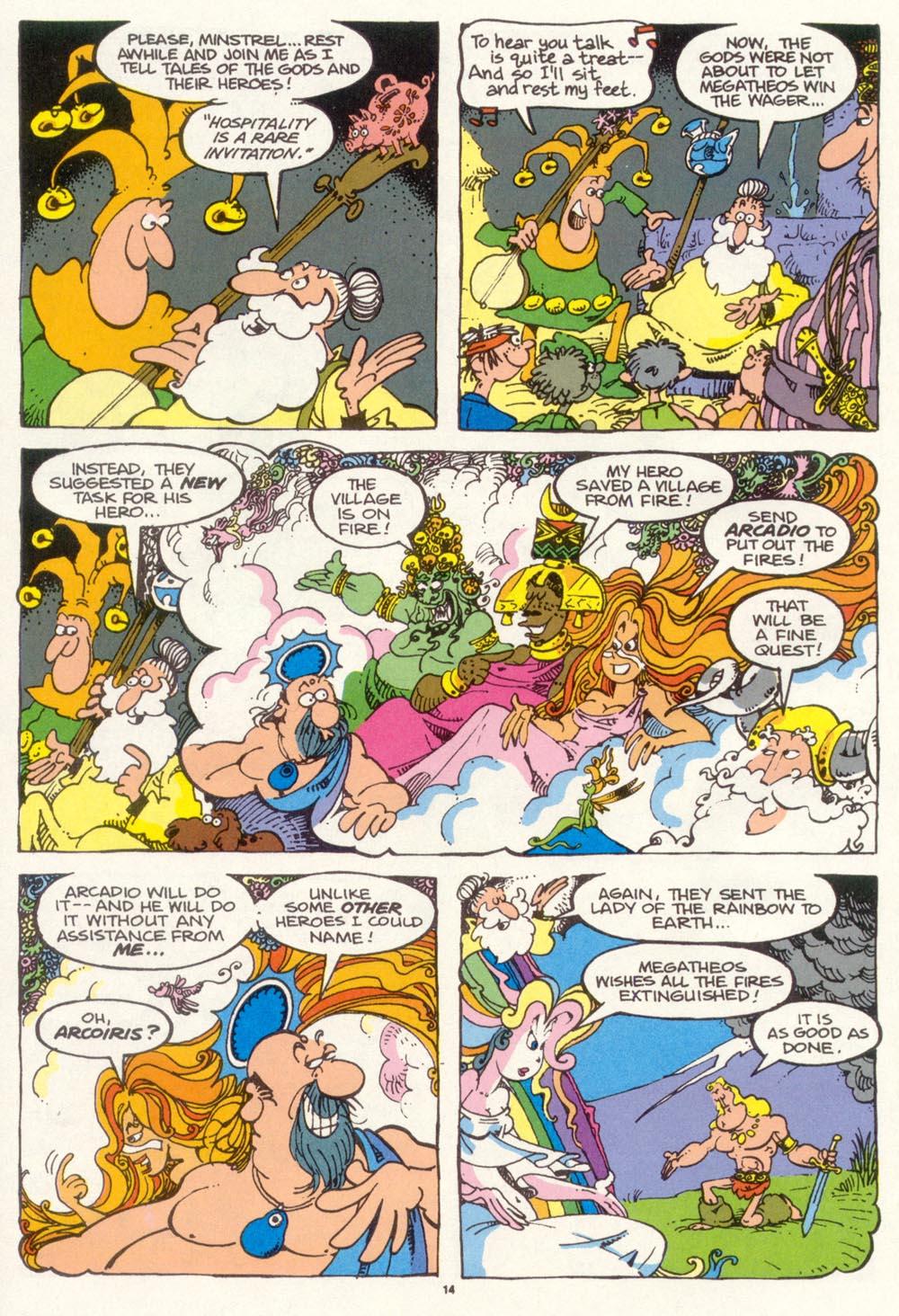 Read online Sergio Aragonés Groo the Wanderer comic -  Issue #97 - 15