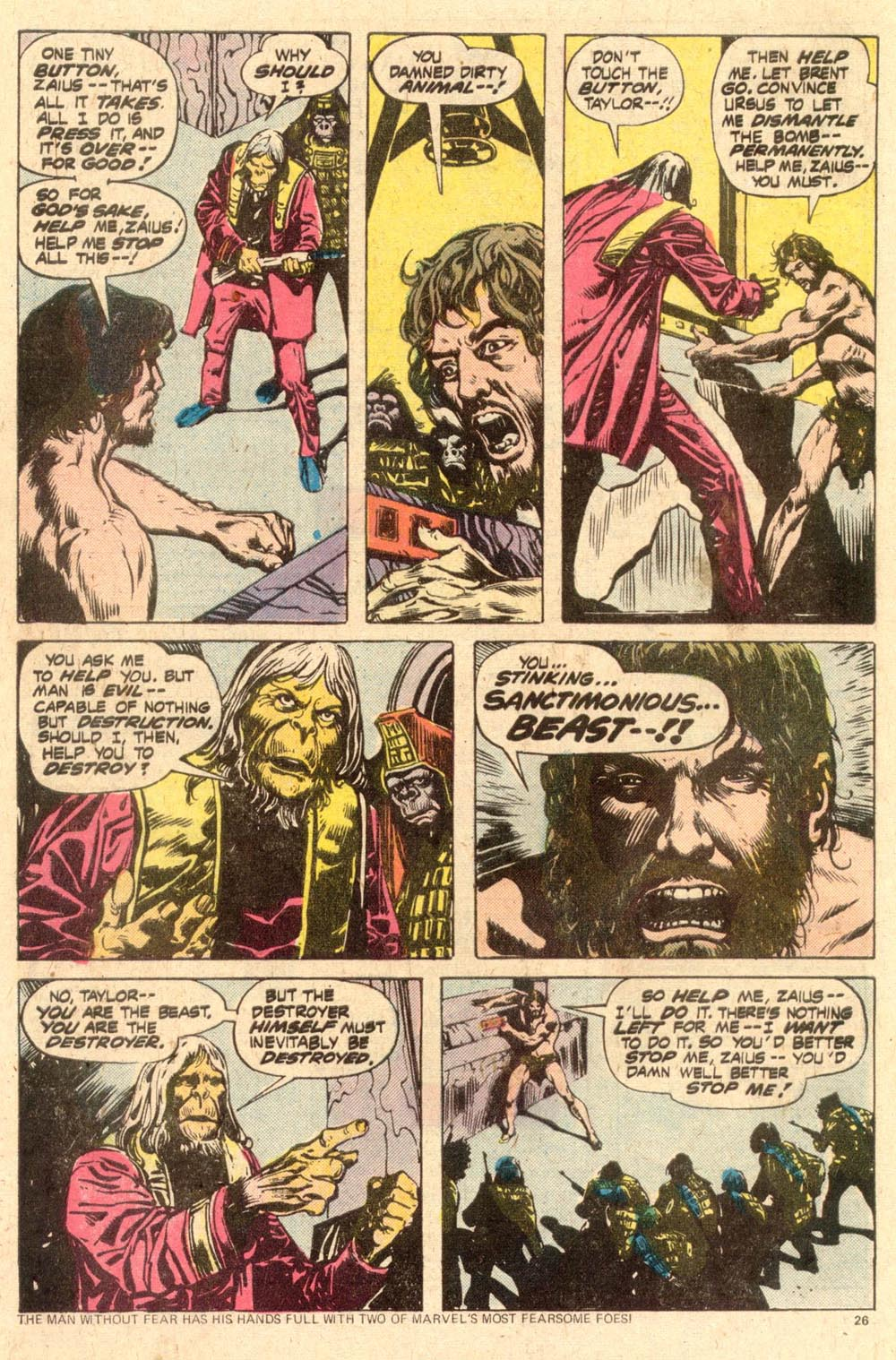 Read online Adventures on the Planet of the Apes comic -  Issue #11 - 17