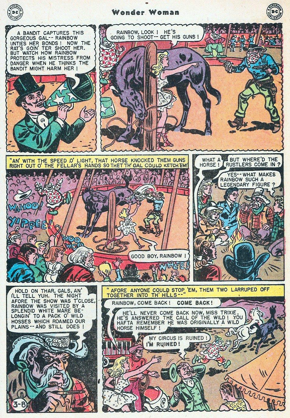 Read online Wonder Woman (1942) comic -  Issue #27 - 23