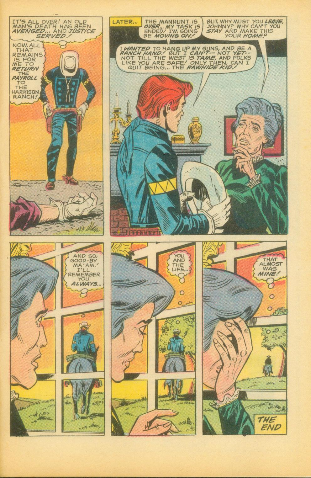 The Rawhide Kid (1955) issue 73 - Page 34