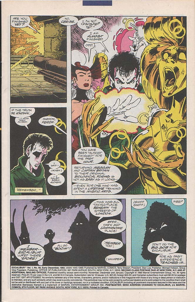 Excalibur (1988) issue 58 - Page 2