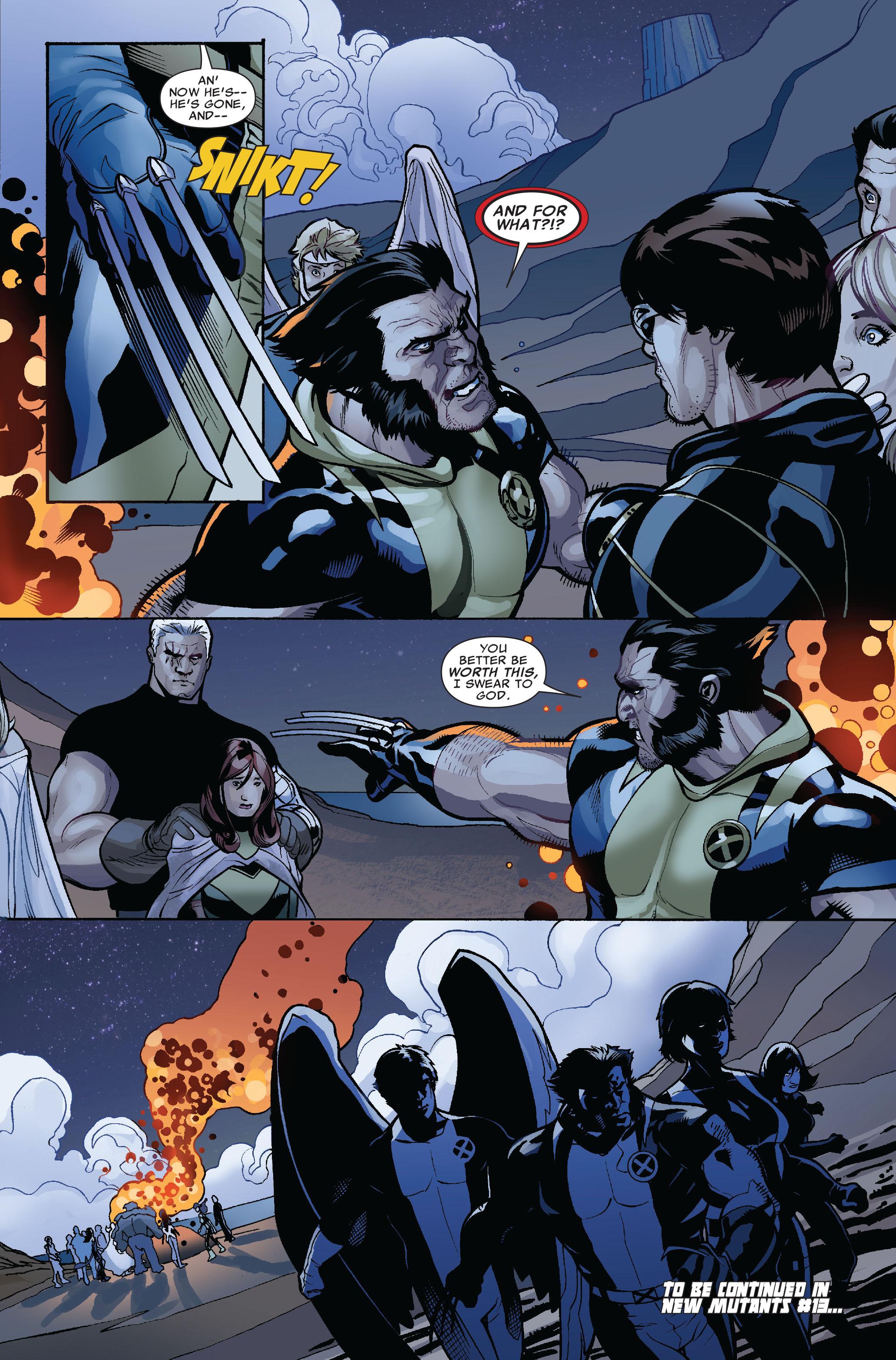Read online Uncanny X-Men (1963) comic -  Issue #524 - 23