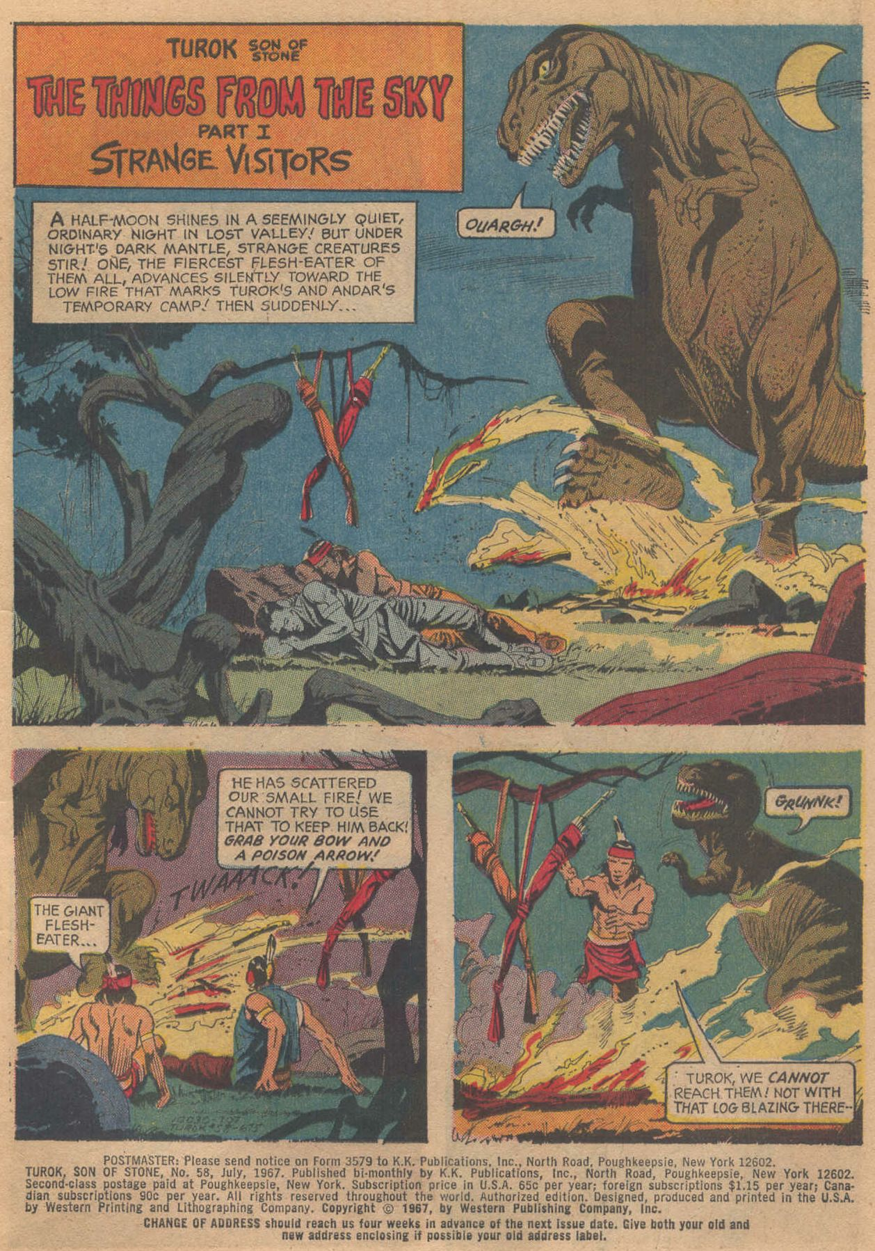Read online Turok, Son of Stone comic -  Issue #58 - 3