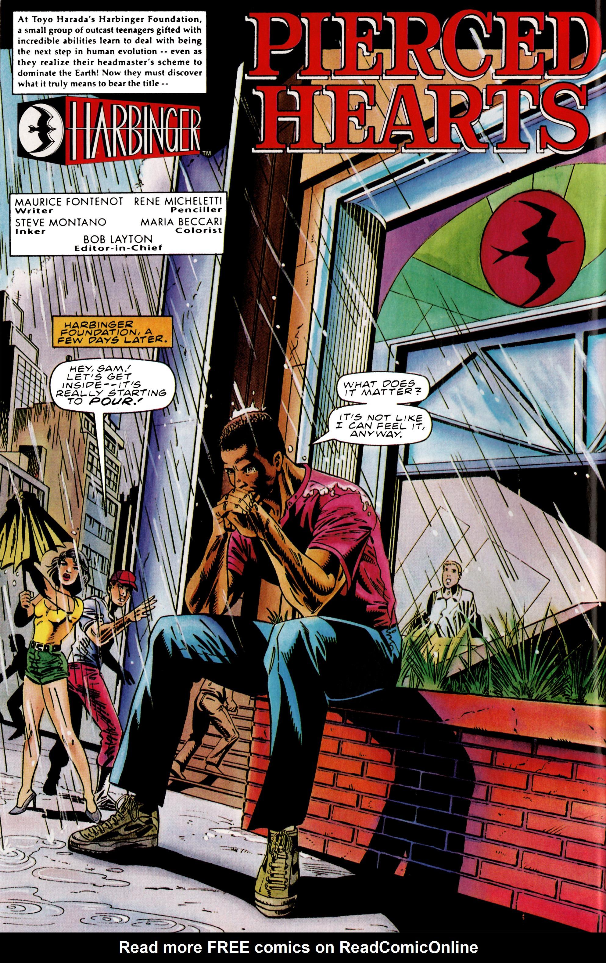 Read online Harbinger (1992) comic -  Issue #38 - 5