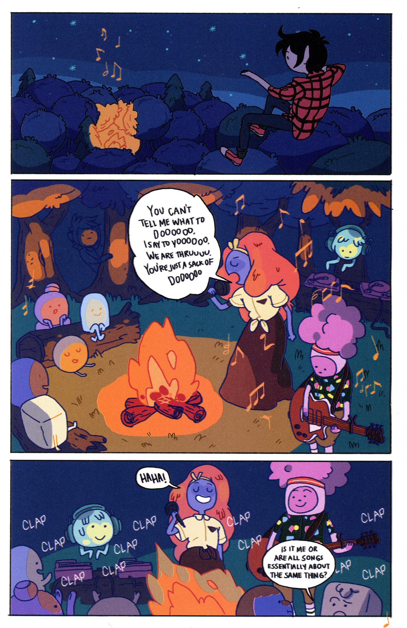 Read online Adventure Time Comics comic -  Issue #8 - 19