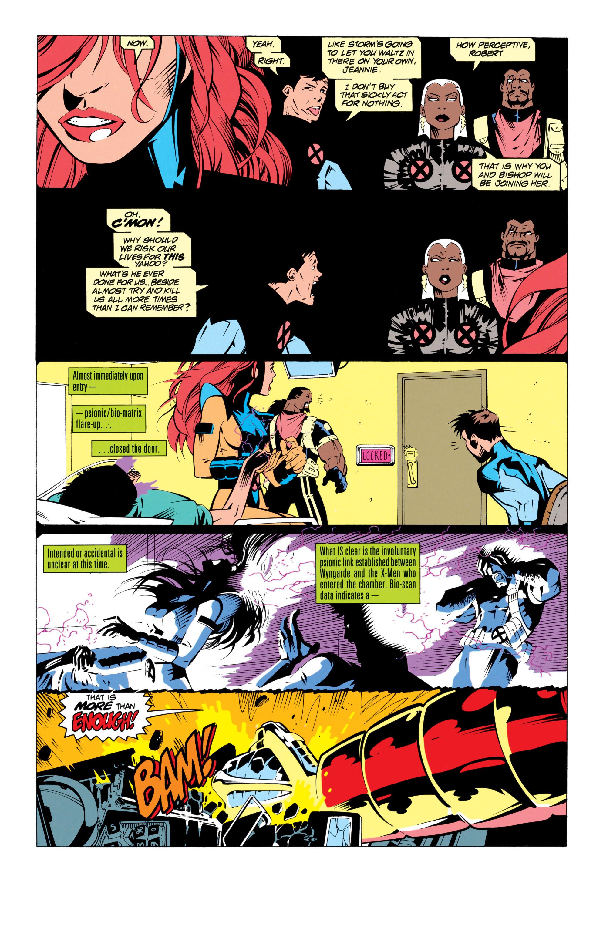 Read online Uncanny X-Men (1963) comic -  Issue # _Annual 17 - 19