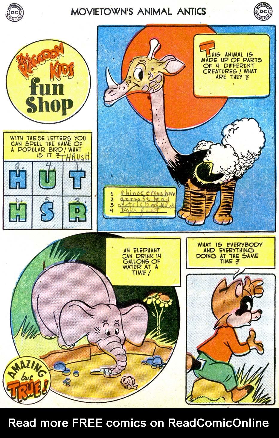 Read online Animal Antics comic -  Issue #39 - 18