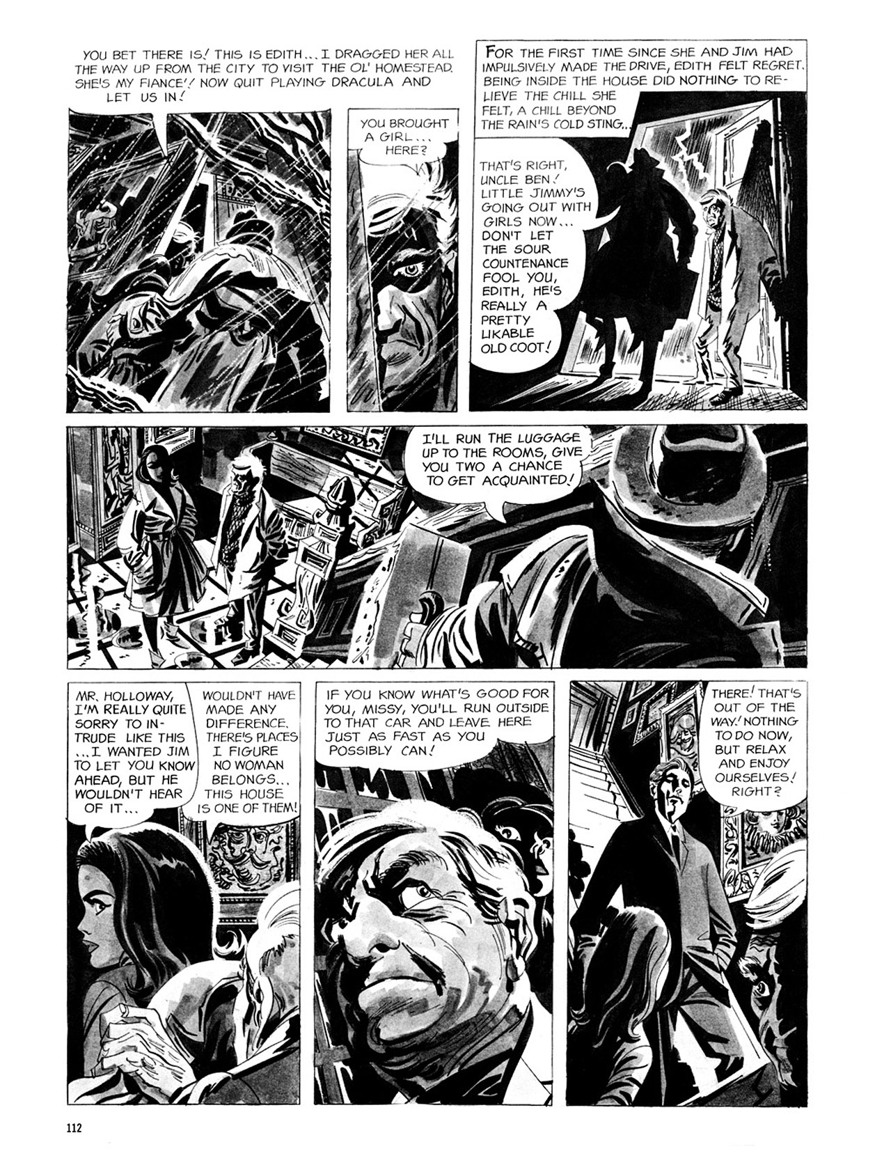 Read online Eerie Archives comic -  Issue # TPB 2 - 113