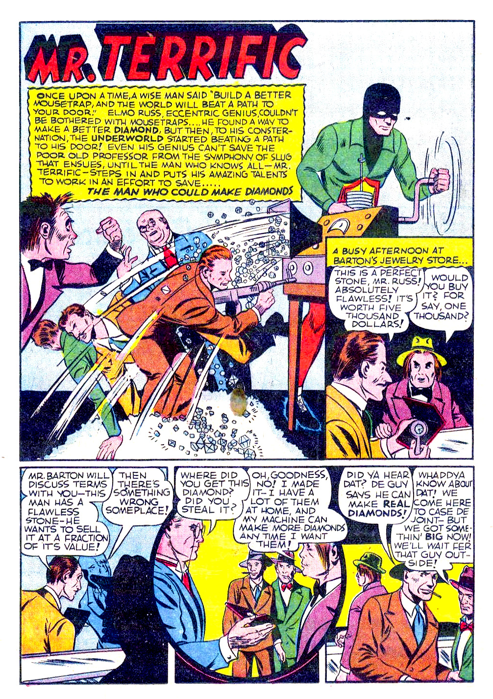 Read online Sensation (Mystery) Comics comic -  Issue #29 - 42