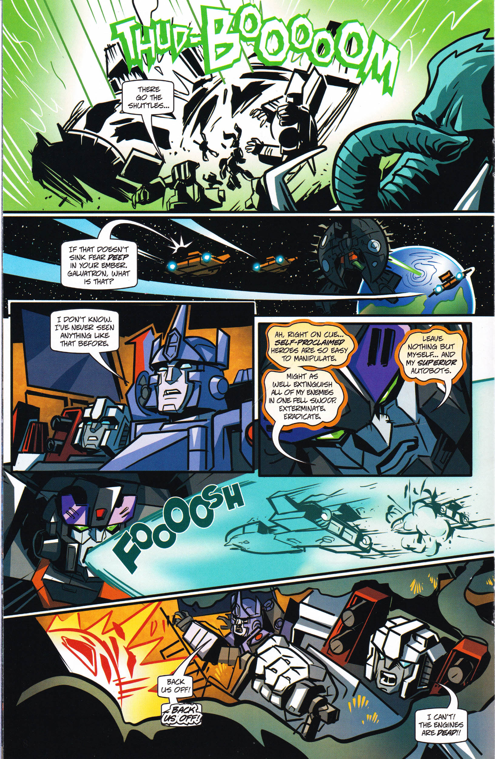 Read online Transformers: Collectors' Club comic -  Issue #66 - 8