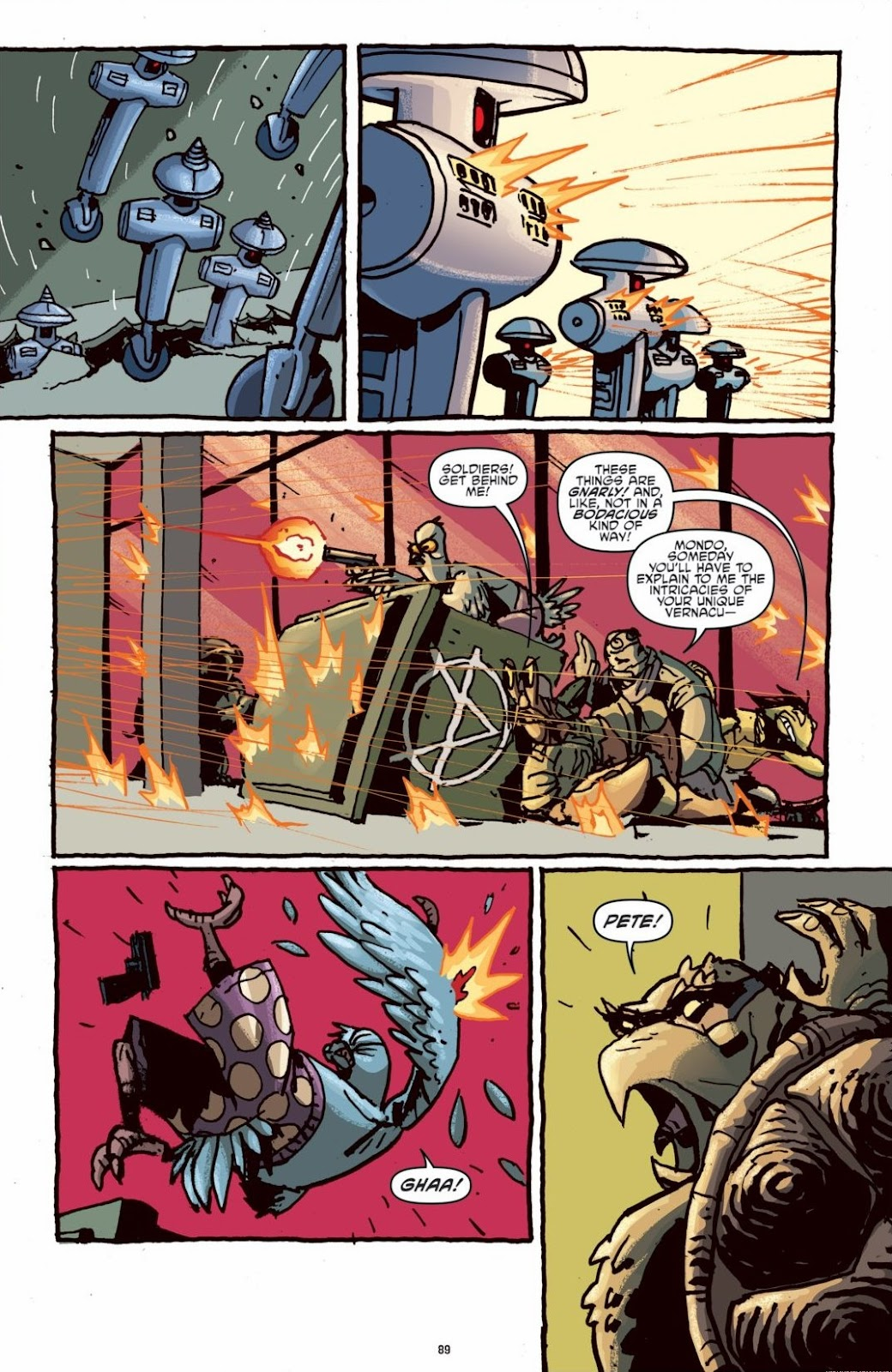 Read online Teenage Mutant Ninja Turtles: The IDW Collection comic -  Issue # TPB 6 (Part 1) - 88