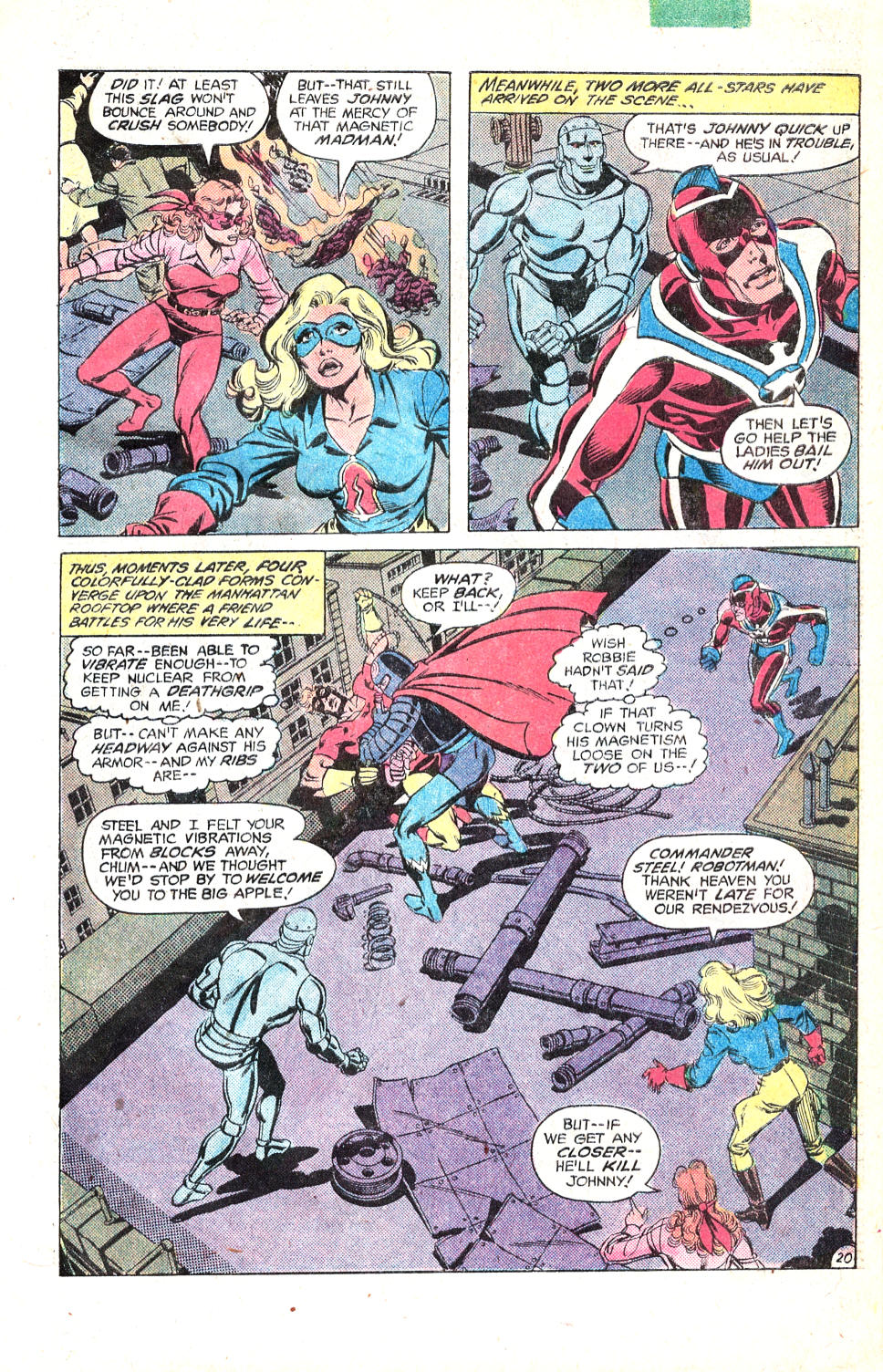 Read online All-Star Squadron comic -  Issue #14 - 26