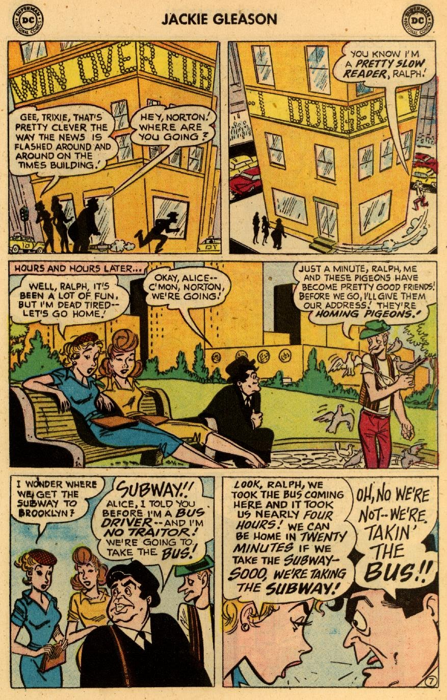 Jackie Gleason and the Honeymooners issue 8 - Page 9