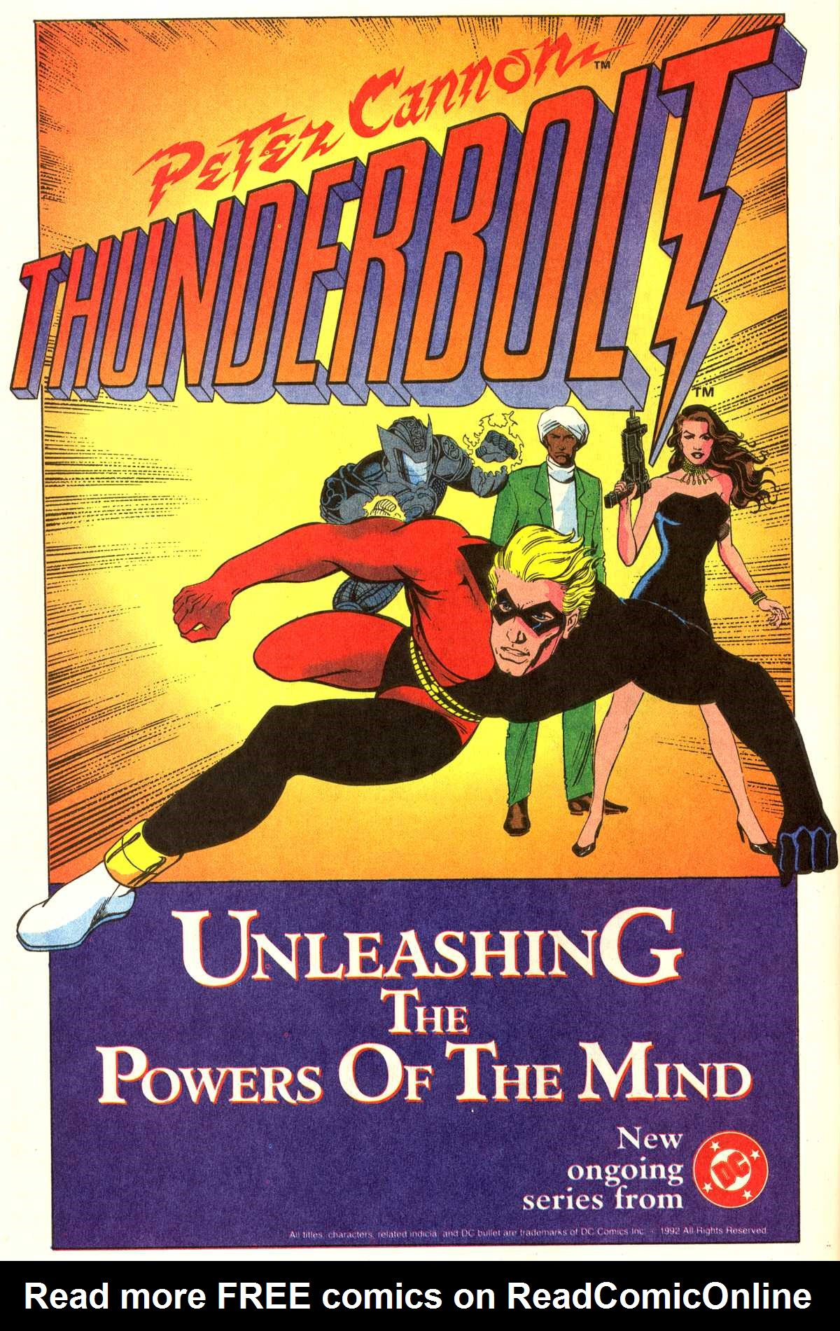 Read online Peter Cannon--Thunderbolt (1992) comic -  Issue #11 - 26