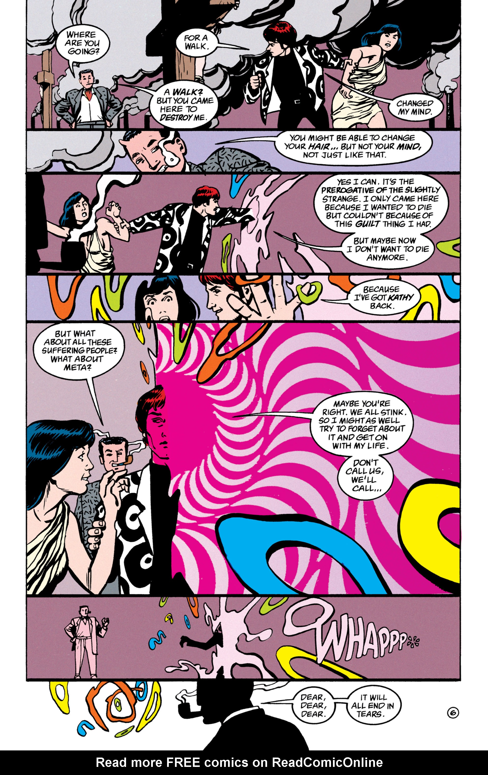 Read online Shade, the Changing Man comic -  Issue #52 - 7