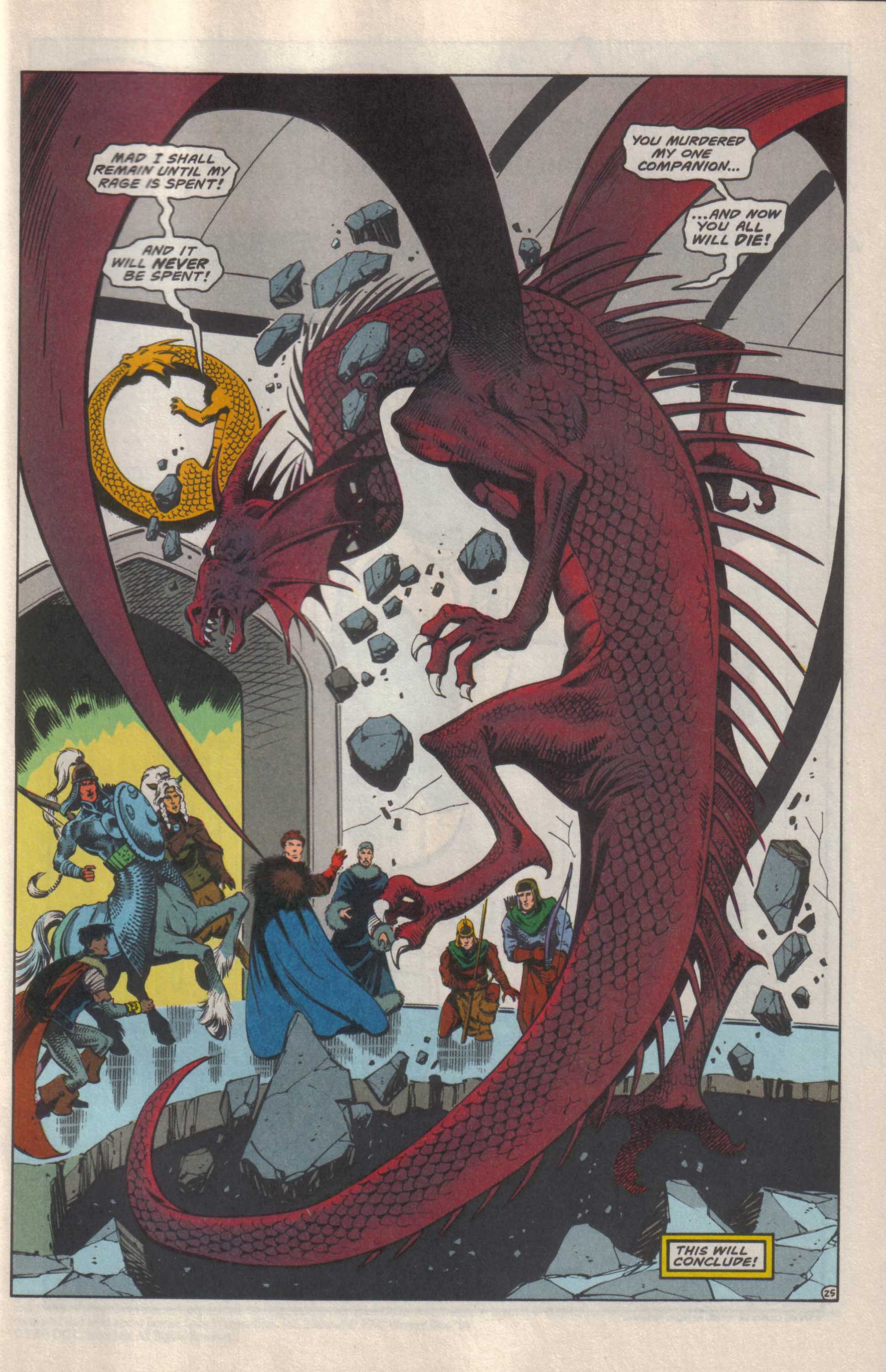 Read online Advanced Dungeons & Dragons comic -  Issue #25 - 26