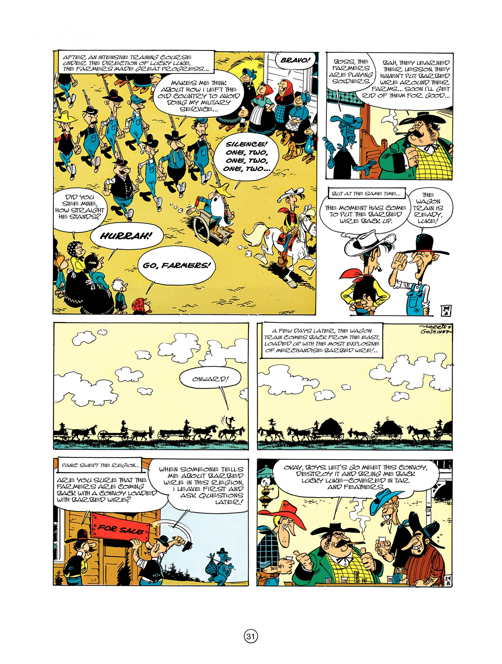 Read online A Lucky Luke Adventure comic -  Issue #7 - 31