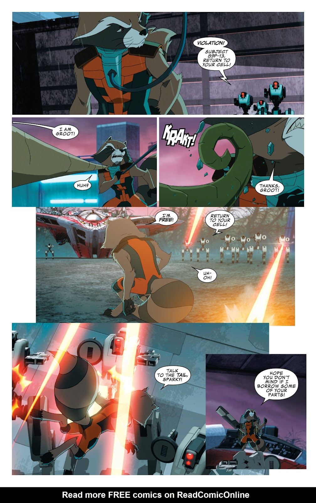 Read online Marvel Universe Guardians of the Galaxy [I] comic -  Issue #4 - 20