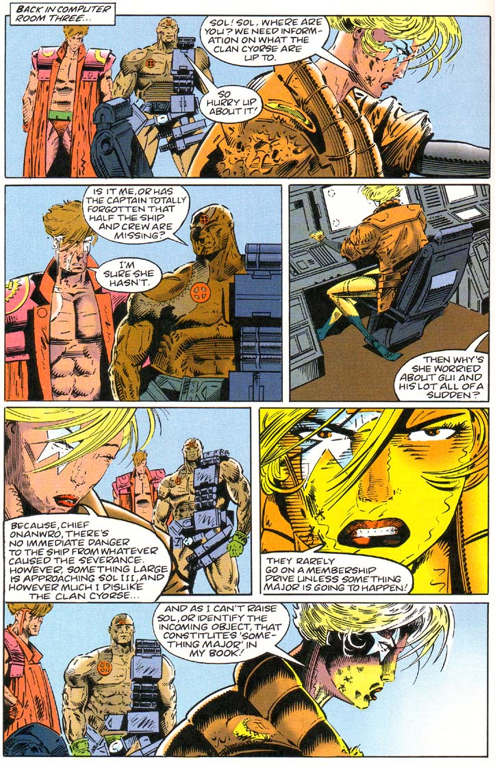Read online Cyberspace 3000 comic -  Issue #1 - 22