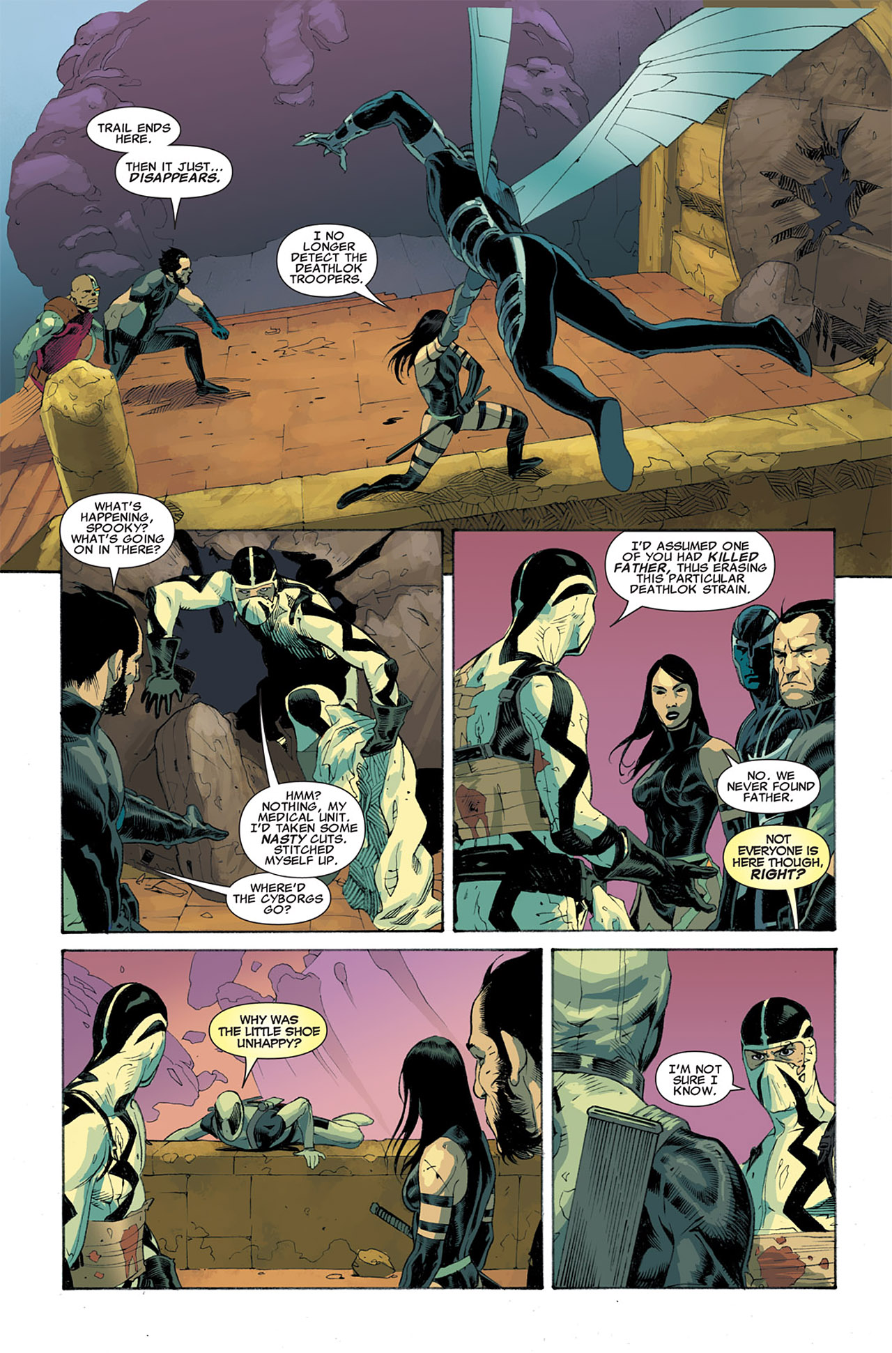 Read online Uncanny X-Force (2010) comic -  Issue #7 - 21