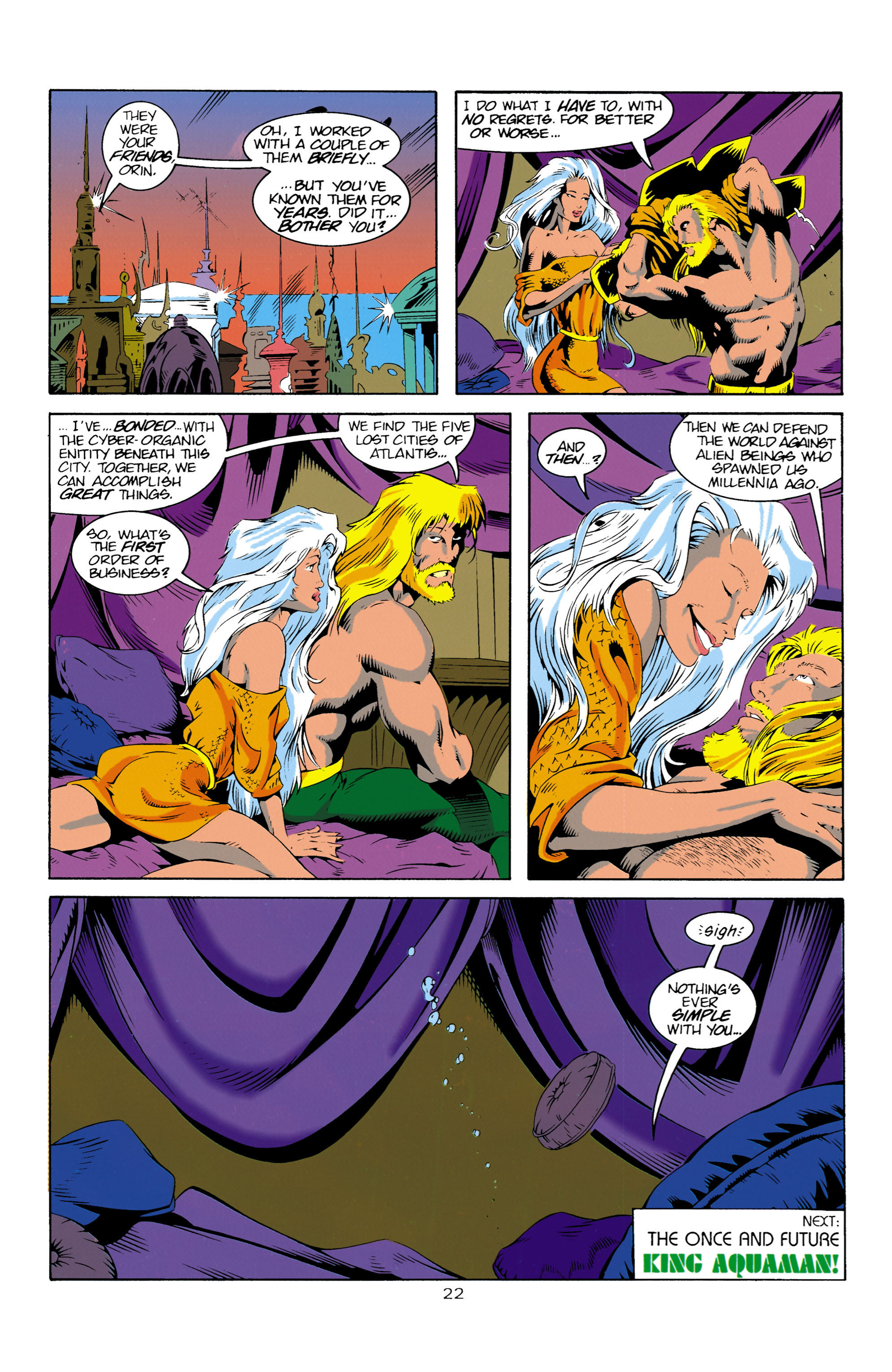 Read online Aquaman (1994) comic -  Issue #16 - 23