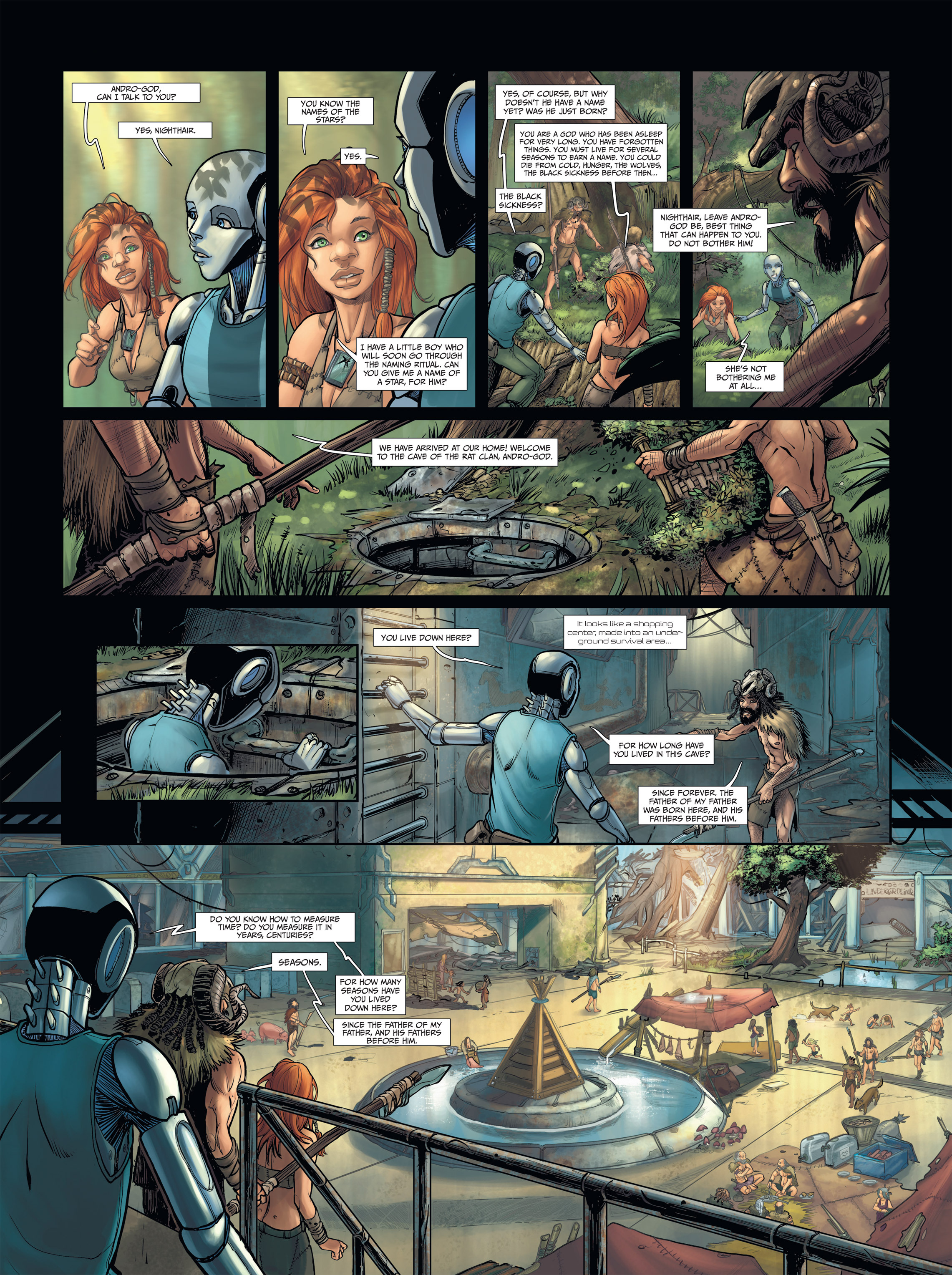Read online Androïds comic -  Issue #2 - 20